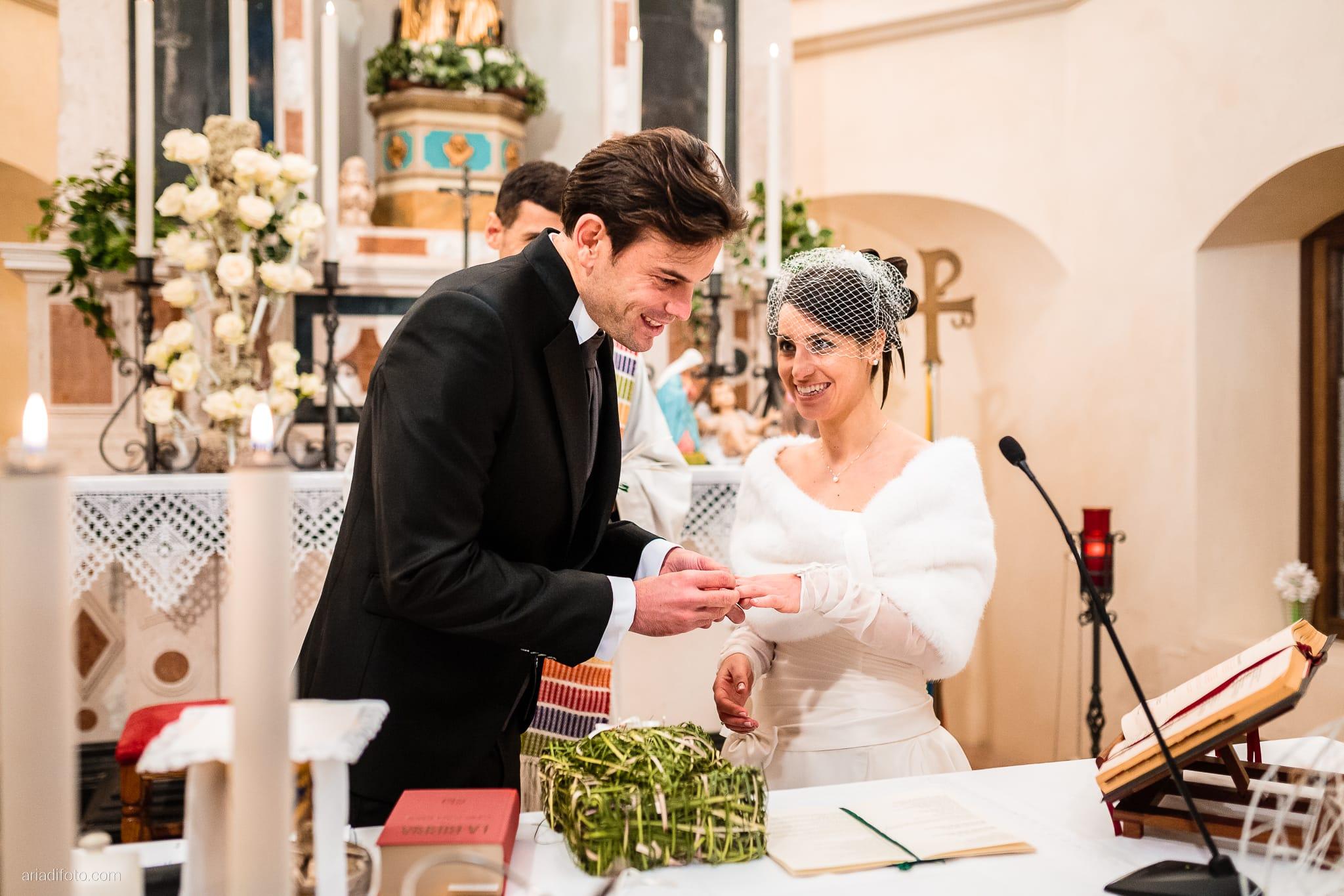 Elisa Matteo matrimonio Preval Gorizia Paradiso Pocenia Udine cerimonia scambio anelli Santa Maria dei Popoli