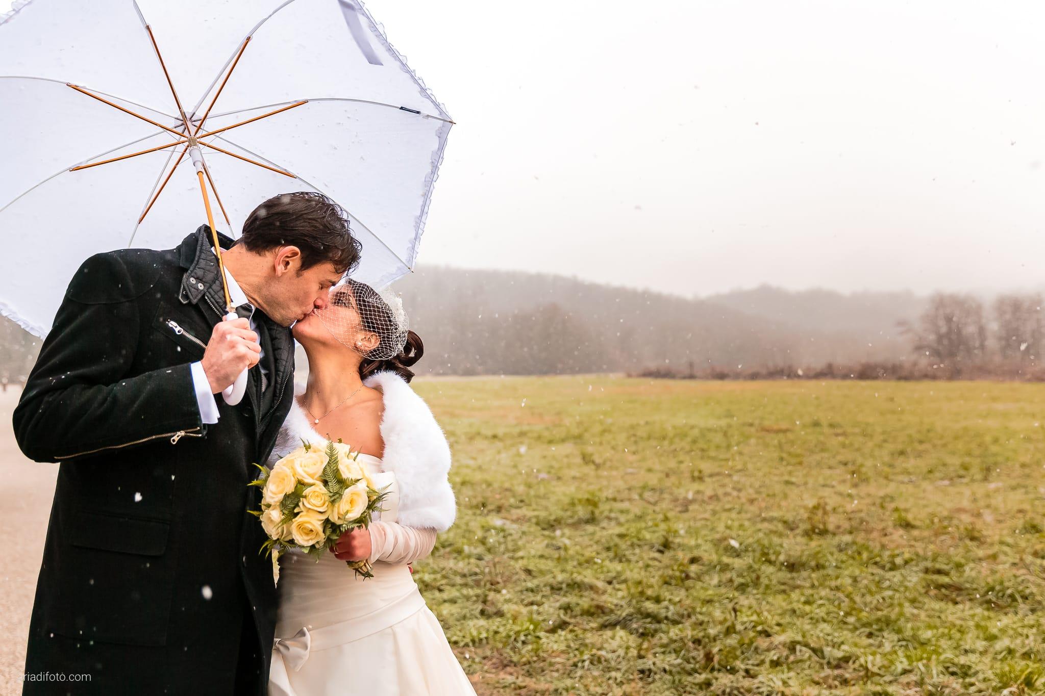 Elisa Matteo matrimonio Preval Gorizia Paradiso Pocenia Udine ritratti sposi inverno neve