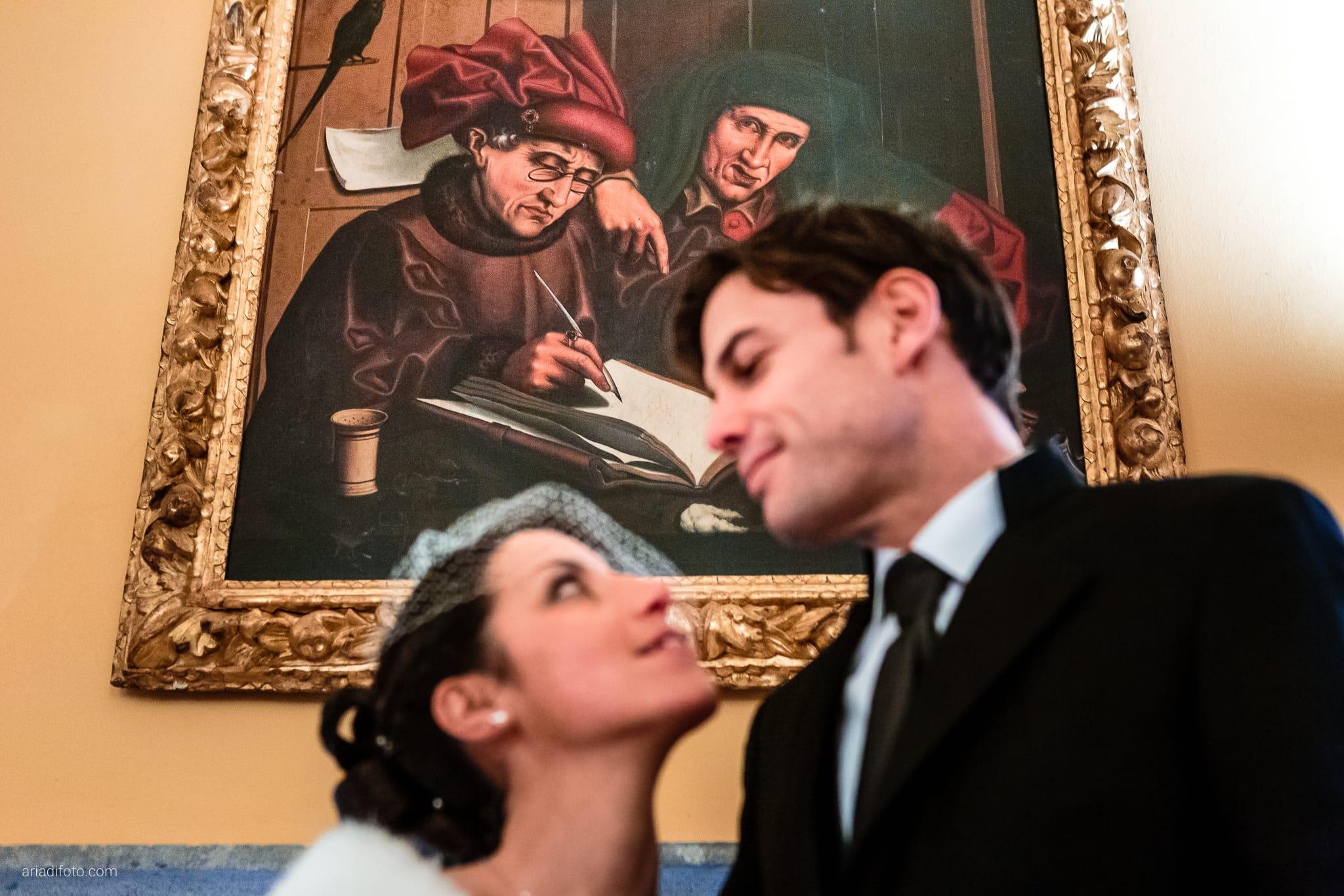 Elisa Matteo matrimonio Preval Gorizia Paradiso Pocenia Udine Palazzo Coronini Cronberg ritratti sposi inverno