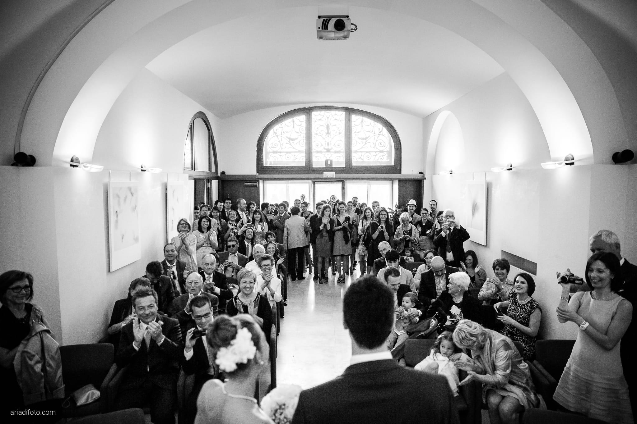 Giulia Paolo Matrimonio Trieste Villa Iachia Ruda Udine cerimonia civile Piazza Unità