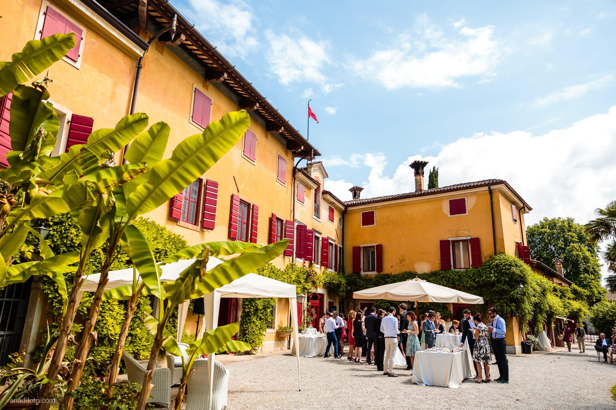 Giulia Paolo Matrimonio Trieste Villa Iachia Ruda Udine ricevimento momenti buffet