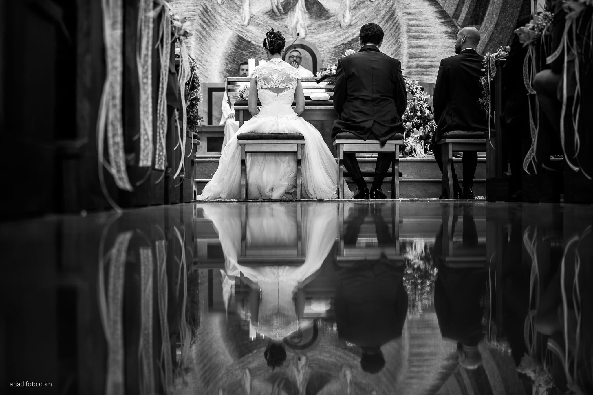 Michela Emilio Matrimonio Terrazze Riviera Trieste cerimonia riflesso pavimento