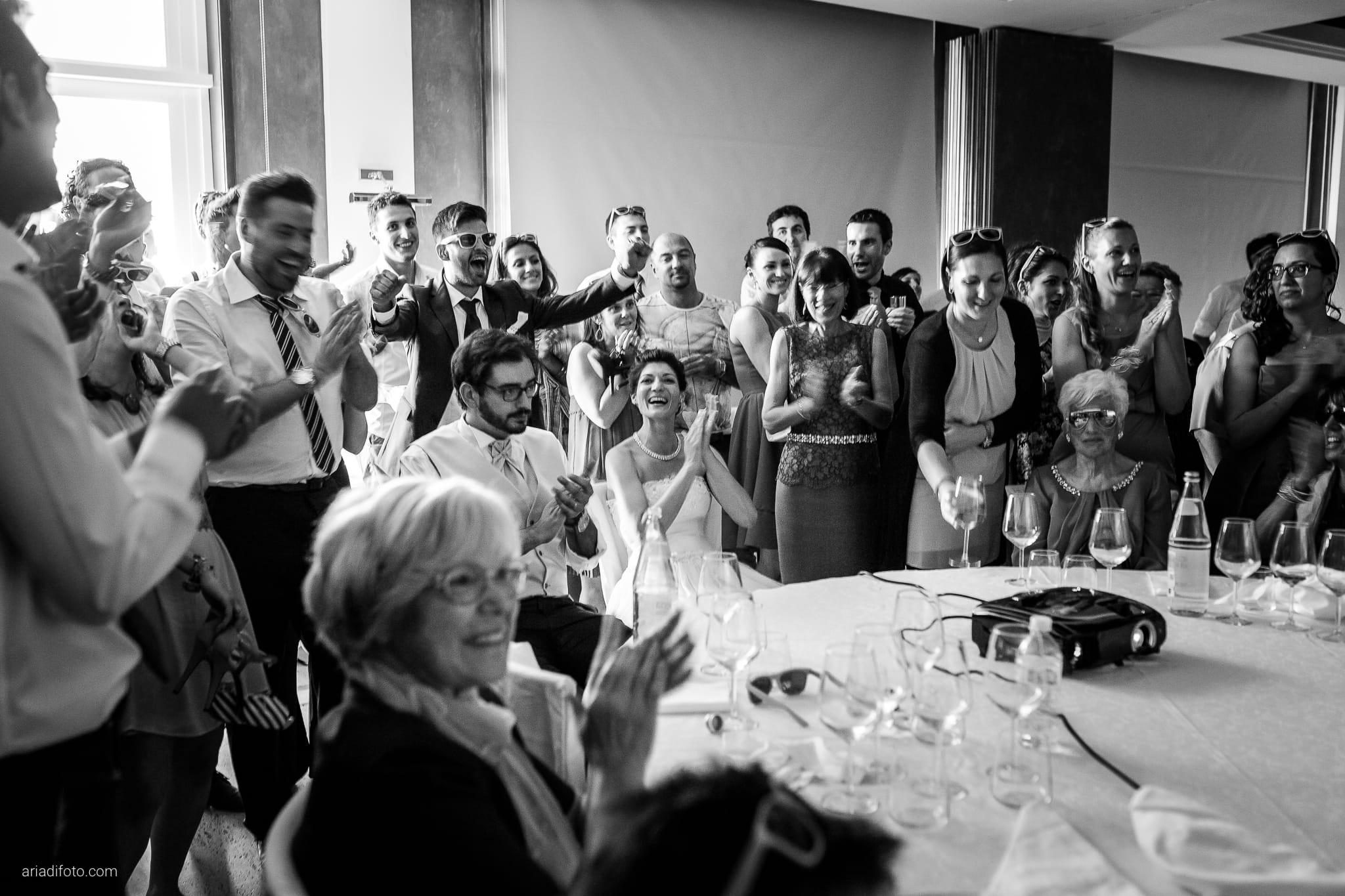 Michela Emilio Matrimonio Terrazze Riviera Trieste ricevimento sorprese