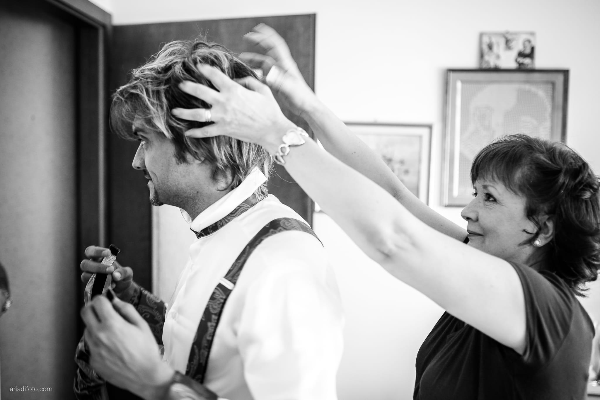 Melania Davide Matrimonio Monrupino Tavernetta Castello di Spessa Capriva Gorizia preparativi capelli