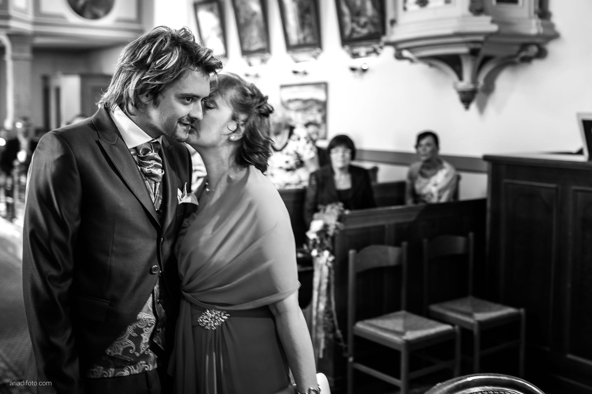 Melania Davide Matrimonio Santuario di Monrupino Tavernetta Castello di Spessa Capriva Gorizia cerimonia ingresso sposo