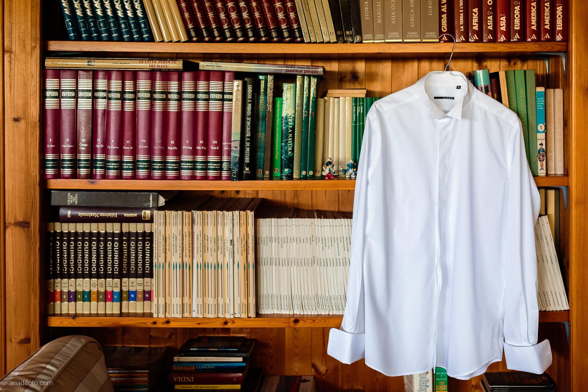 Valentina Francesco Matrimonio Pagnacco Castello Villalta Fagagna Udine preparativi dettagli camicia