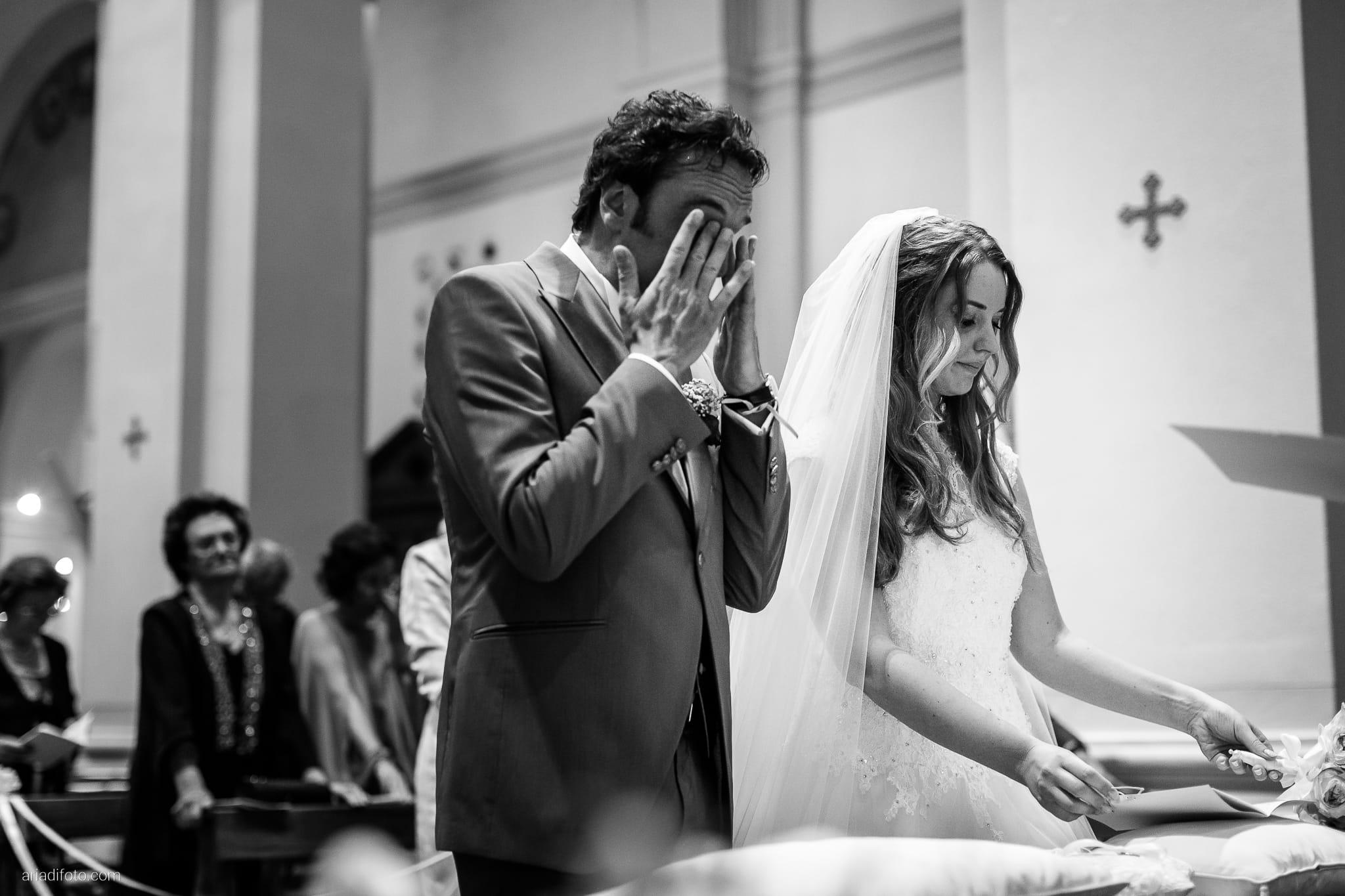 Valentina Francesco Matrimonio Chiesa San Giorgio Martire Pagnacco Castello Villalta Fagagna Udine cerimonia scambio degli anelli