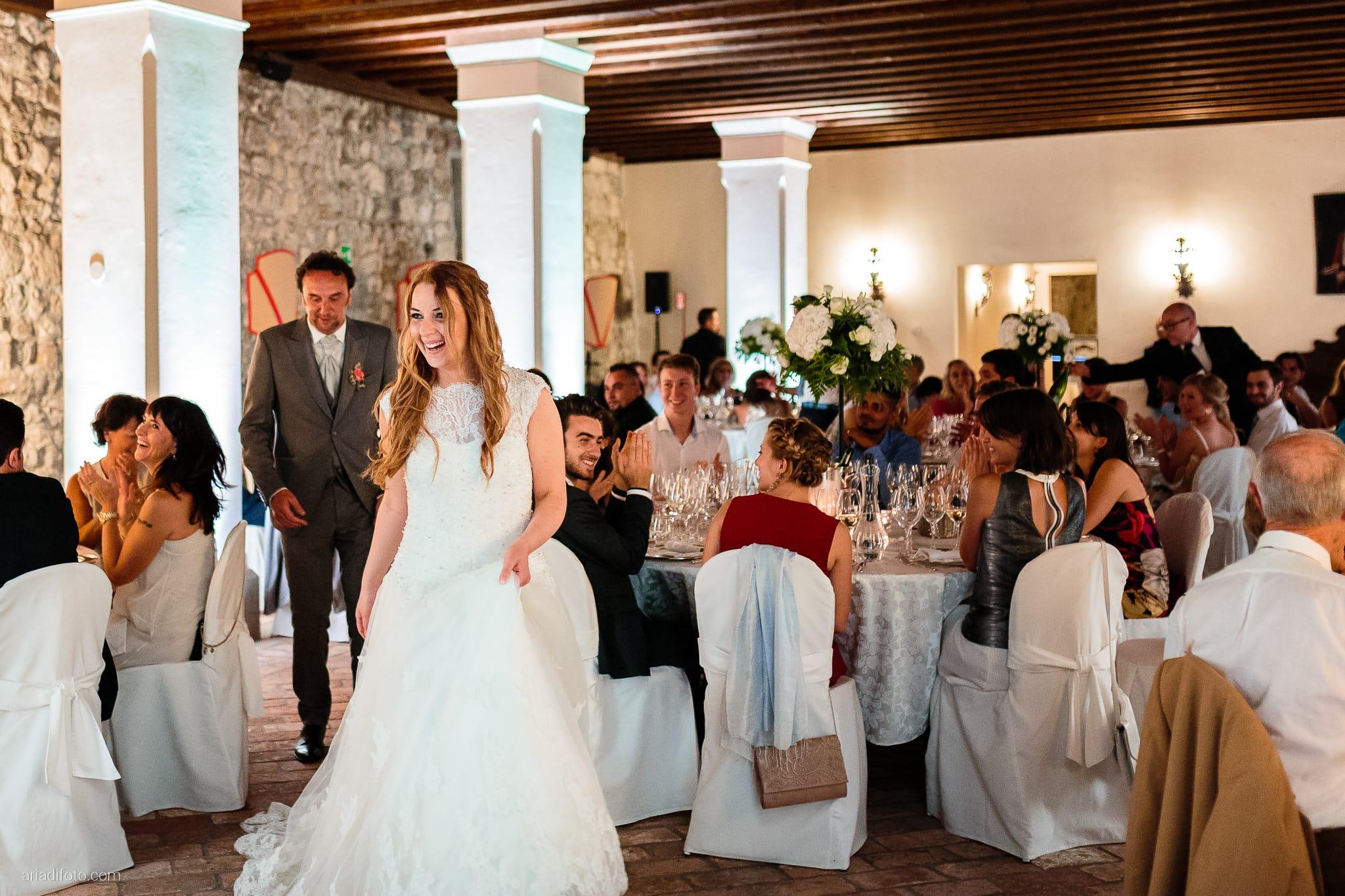 Valentina Francesco Matrimonio Pagnacco Castello Villalta Fagagna Udine ricevimento ingresso sposi
