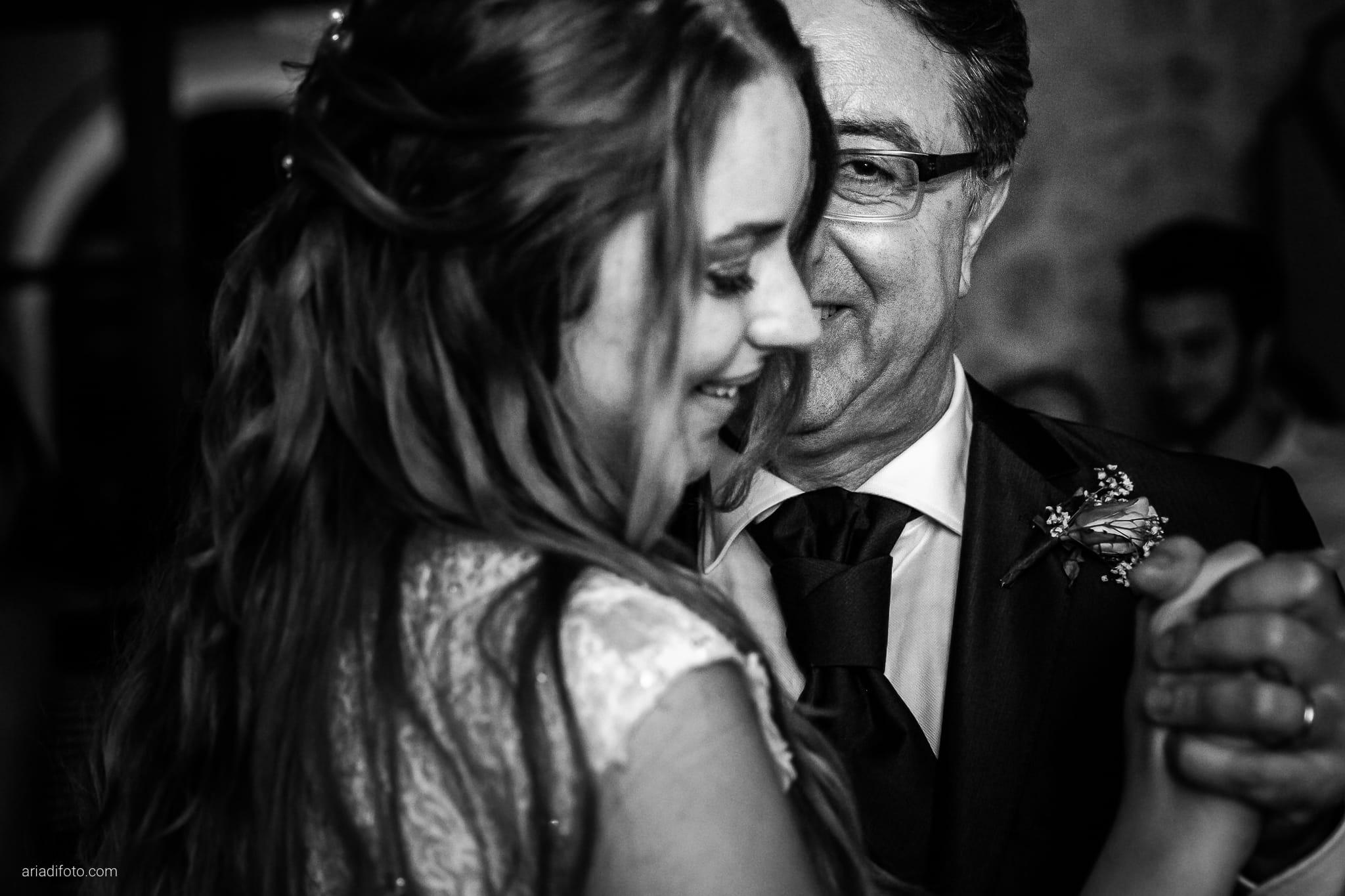 Valentina Francesco Matrimonio Pagnacco Castello Villalta Fagagna Udine ricevimento festa primo ballo papà