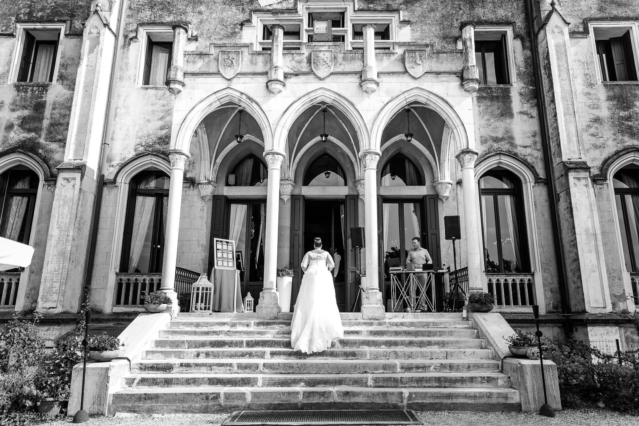 Eleonora Andrea Matrimonio Castello Papadopoli Giol San Polo Piave Treviso ricevimento