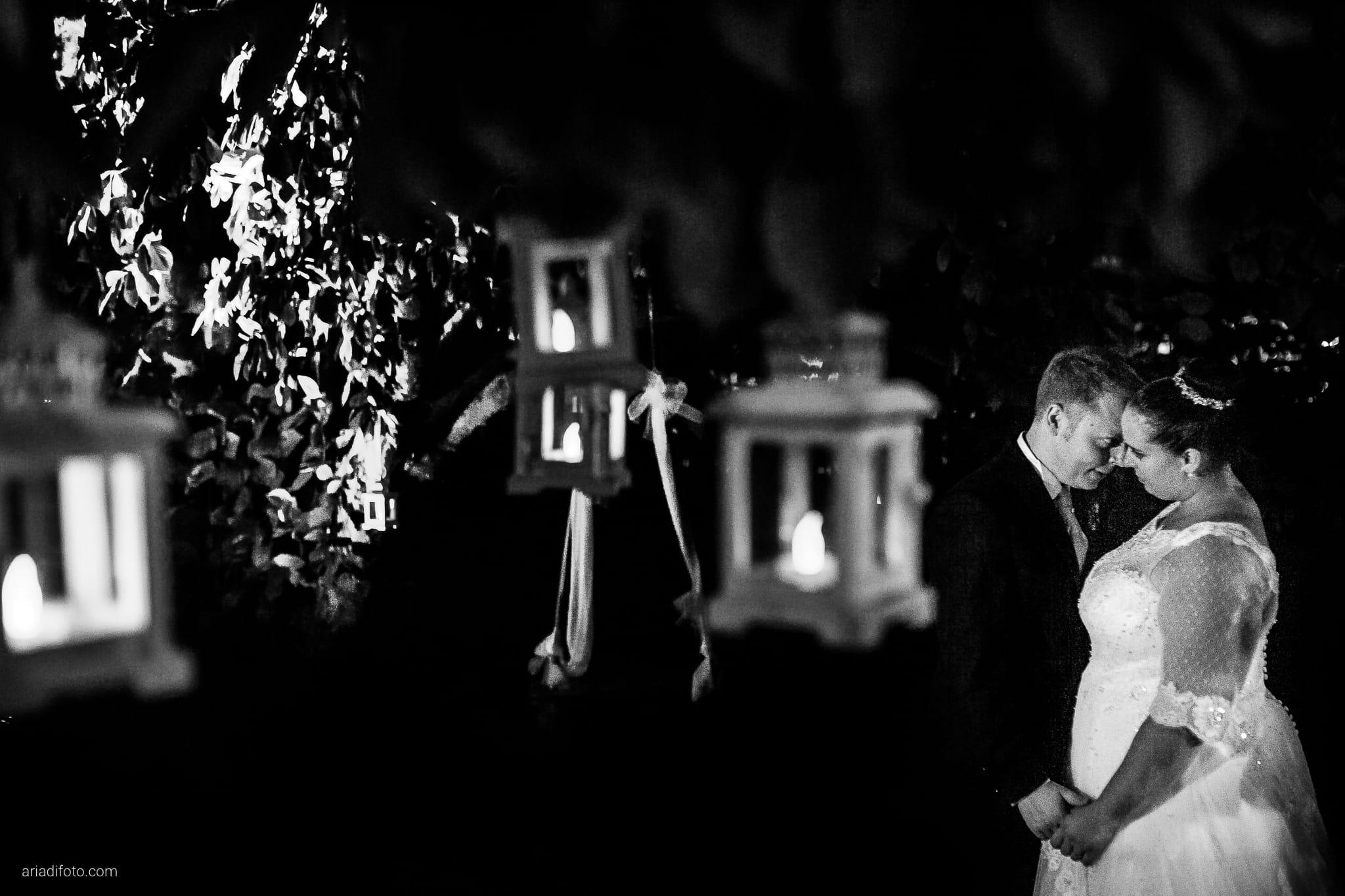 Eleonora Andrea Matrimonio Castello Papadopoli Giol San Polo Piave Treviso ritratti sposi lanterne notte