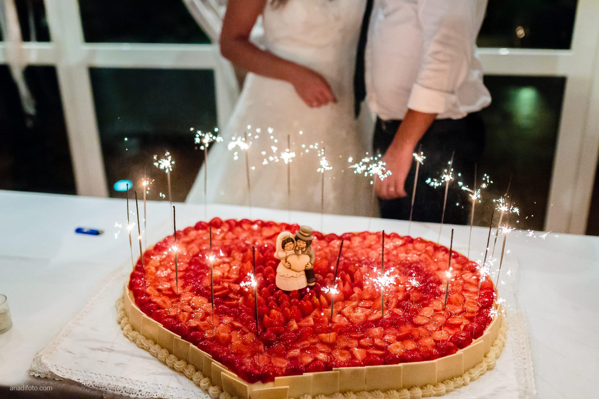 Giorgia Davide Matrimonio Villa Revoltella Salvia Rosmarino Trieste ricevimento torta