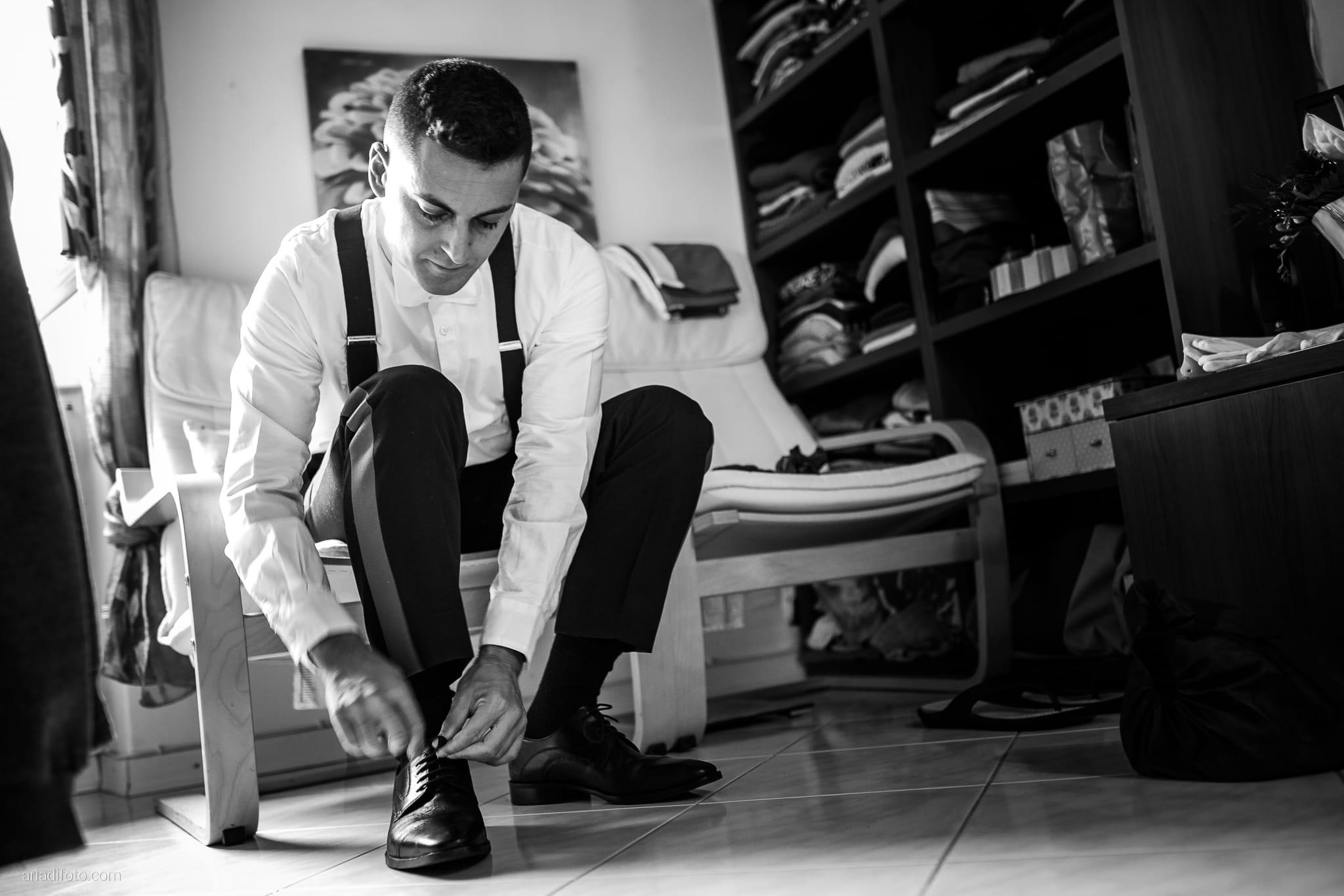 Magdalena Massimo Matrimonio Ristorante Le Terrazze Riviera Trieste preparativi scarpe