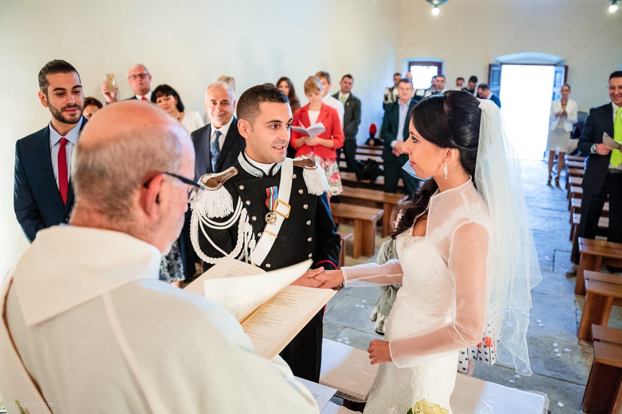 Magdalena Massimo Matrimonio Chiesa SS. Giovanni e Pelagio Ristorante Le Terrazze Riviera Trieste cerimonia promesse