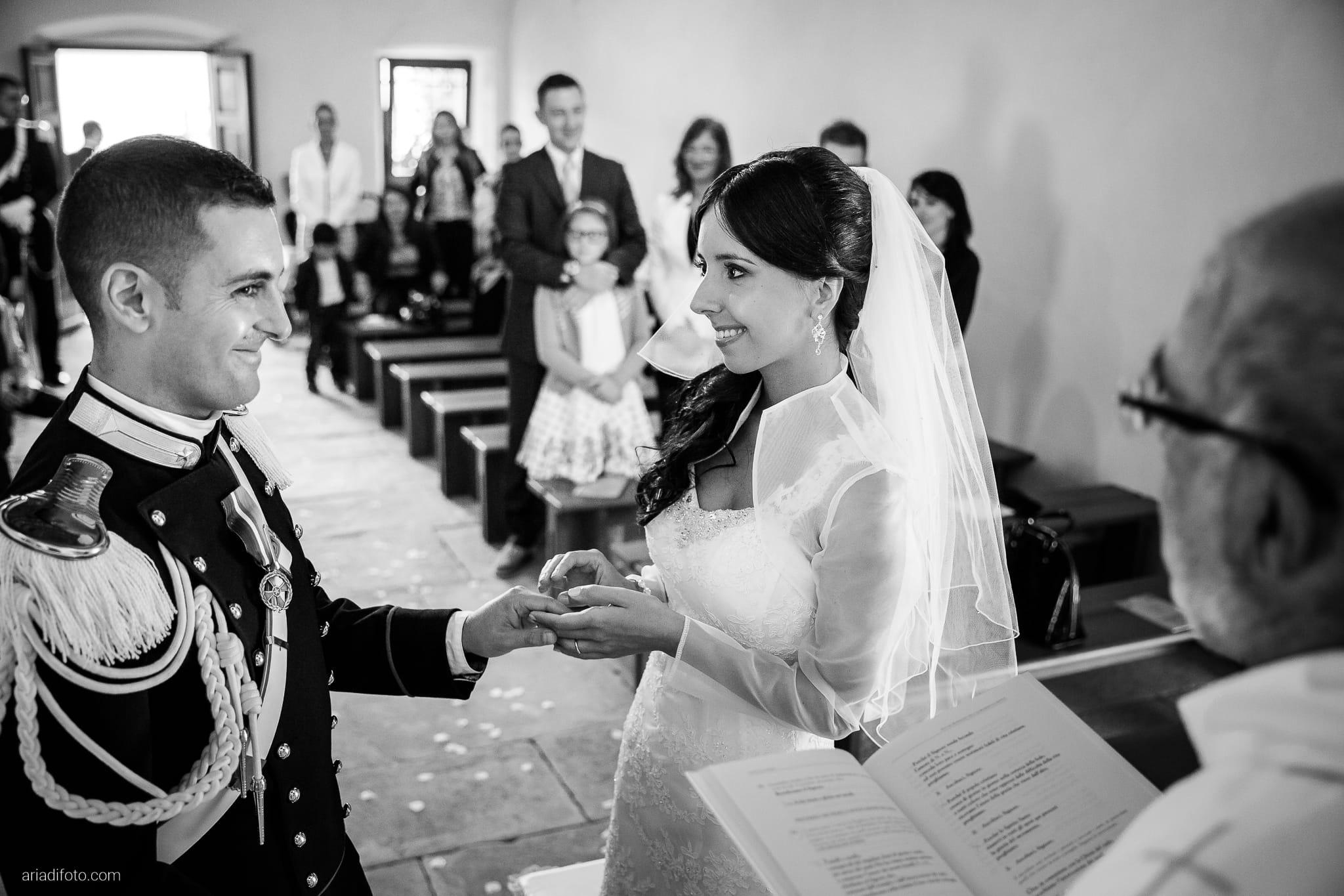 Magdalena Massimo Matrimonio Chiesa SS. Giovanni e Pelagio Ristorante Le Terrazze Riviera Trieste cerimonia scambio degli anelli