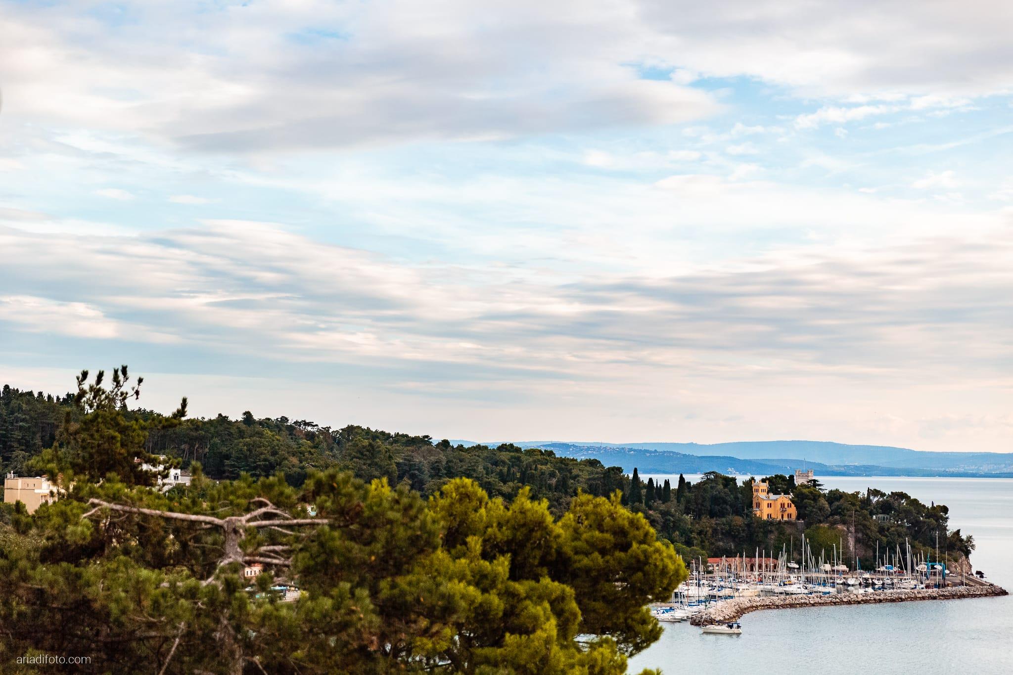Magdalena Massimo Matrimonio Ristorante Le Terrazze Riviera Trieste ricevimento Miramare