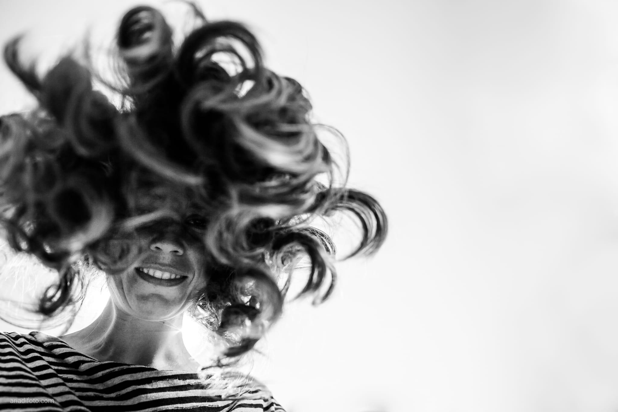 Rossella Stefano Matrimonio Muggia Mulin Koper Slovenia preparativi acconciatura capelli