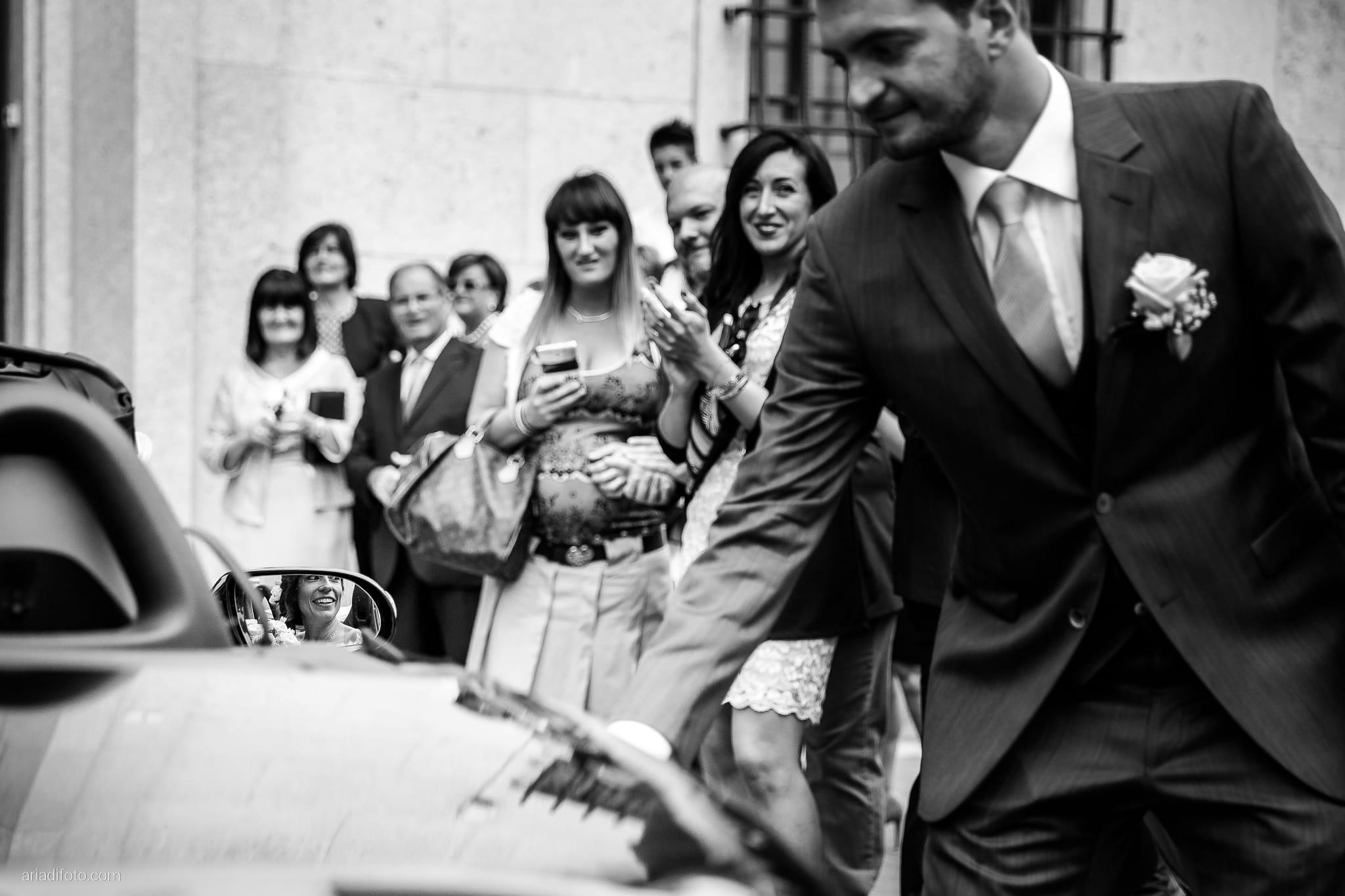 Rossella Stefano Matrimonio Municipio di Muggia Mulin Koper Slovenia cerimonia riflesso specchietto