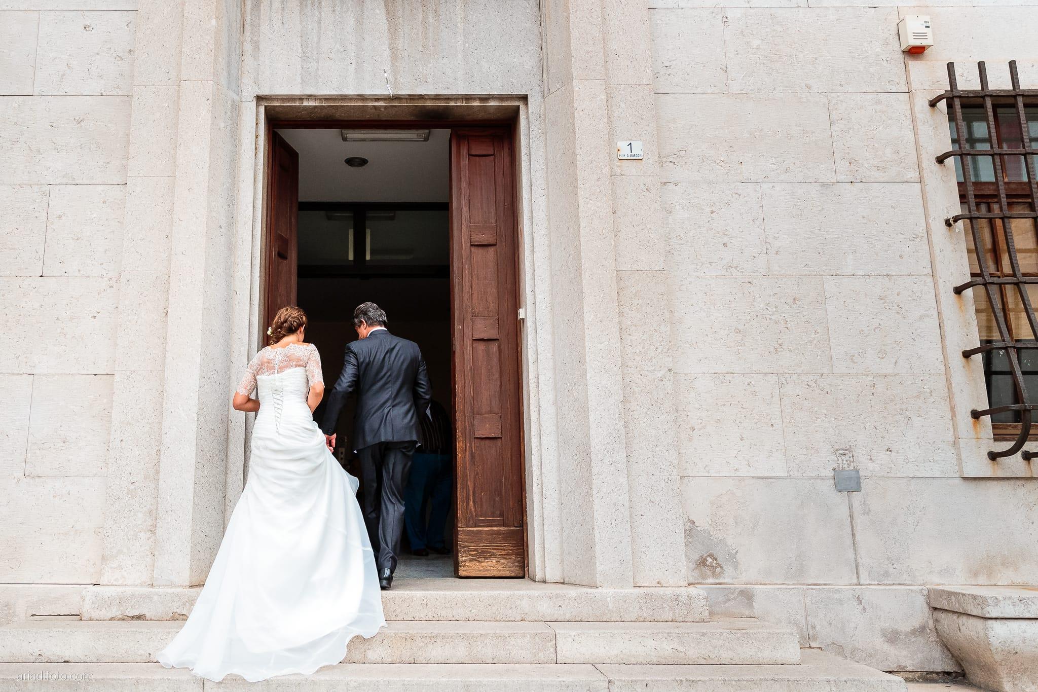Rossella Stefano Matrimonio Municipio di Muggia Mulin Koper Slovenia cerimonia ingresso sposa