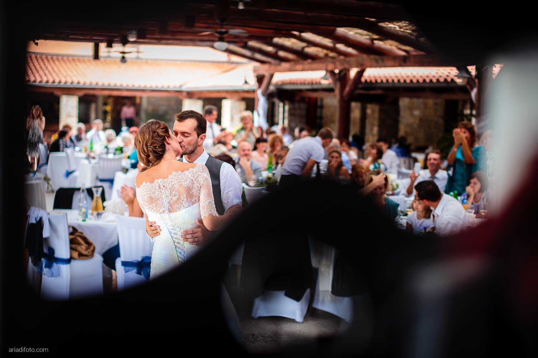 Rossella Stefano Matrimonio Muggia Mulin Koper Slovenia ricevimento primo ballo
