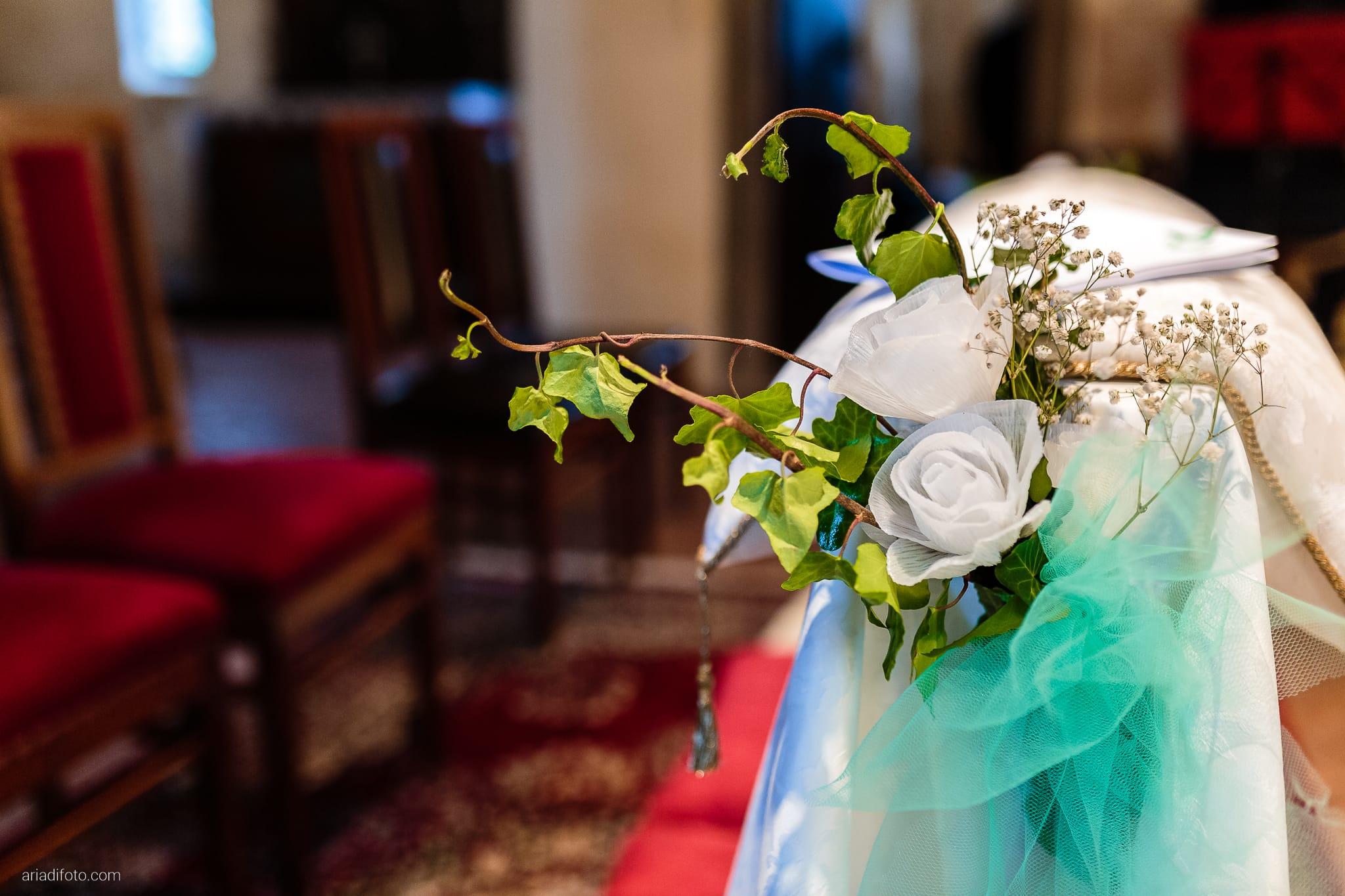 Eleonora Elia Matrimonio Chiesa Santa Eufemia Tarcento Udine Baronesse Tacco Gorizia cerimonia dettagli fiori decorazioni rose