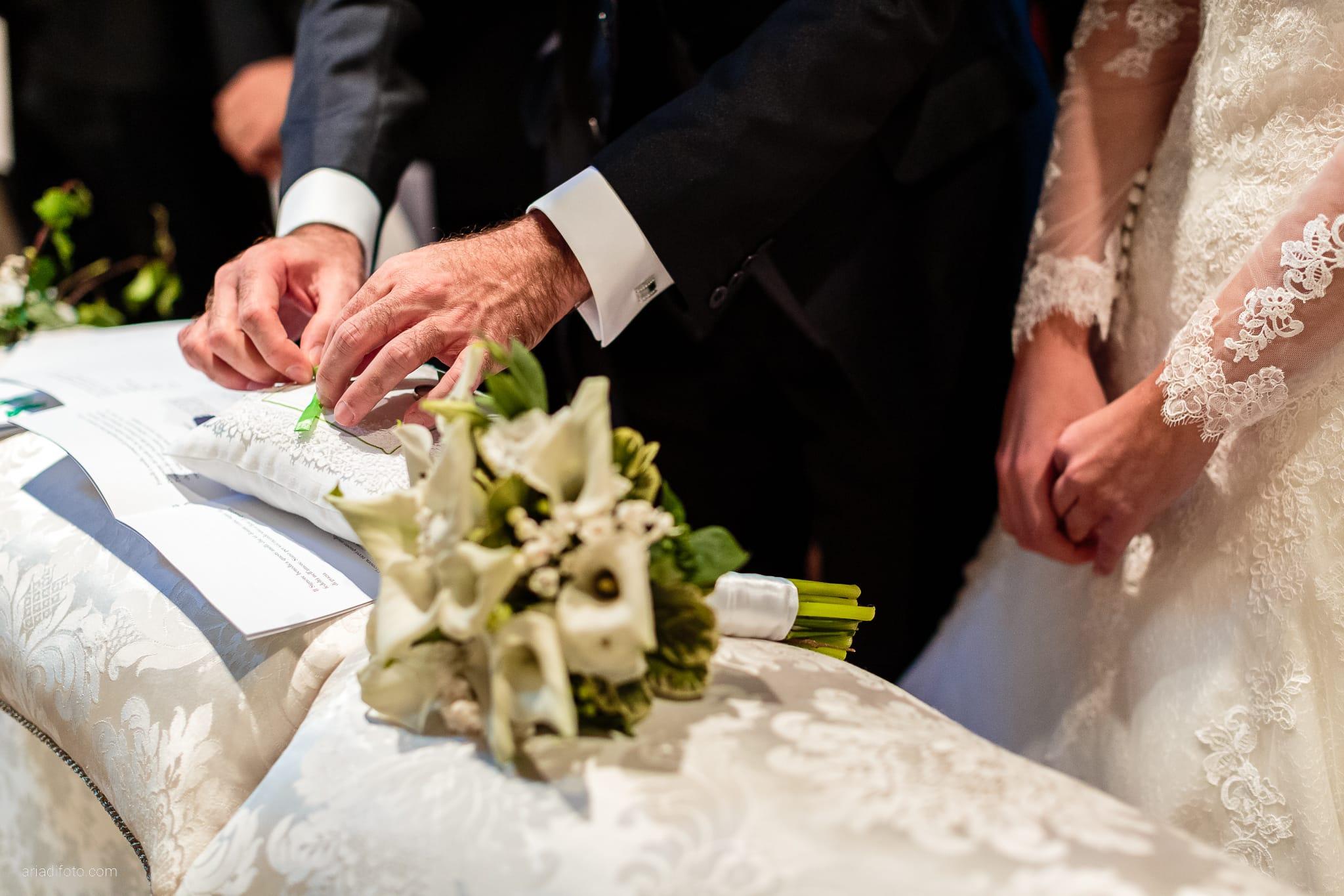 Eleonora Elia Matrimonio Chiesa Santa Eufemia Tarcento Udine Baronesse Tacco Gorizia cerimonia scambio degli anelli