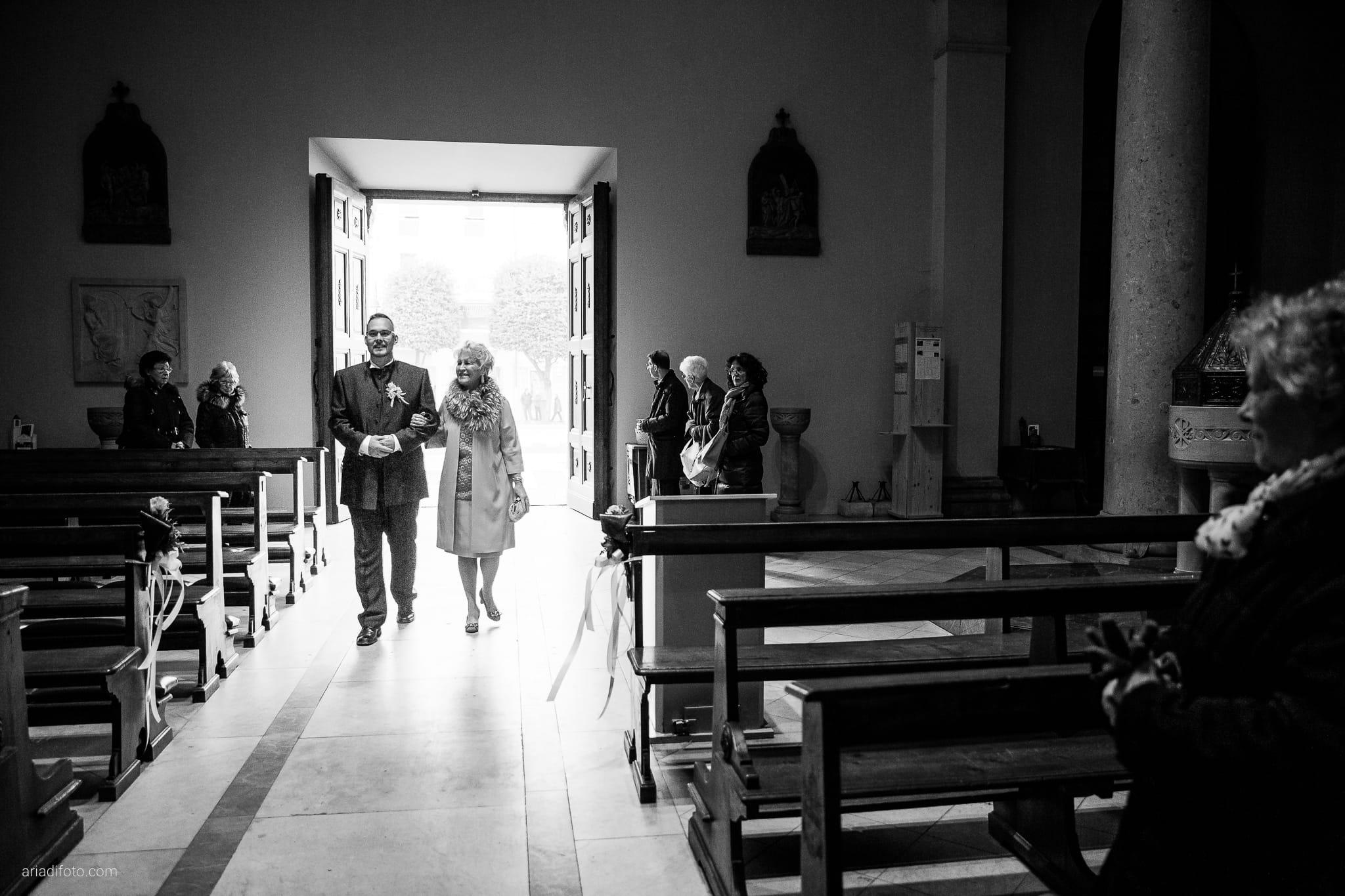 Elena Fabio Matrimonio Monfalcone Duomo di Sant'Ambrogio Castello Gorizia Rusjan Nova Gorica Slovenia cerimonia ingresso sposo