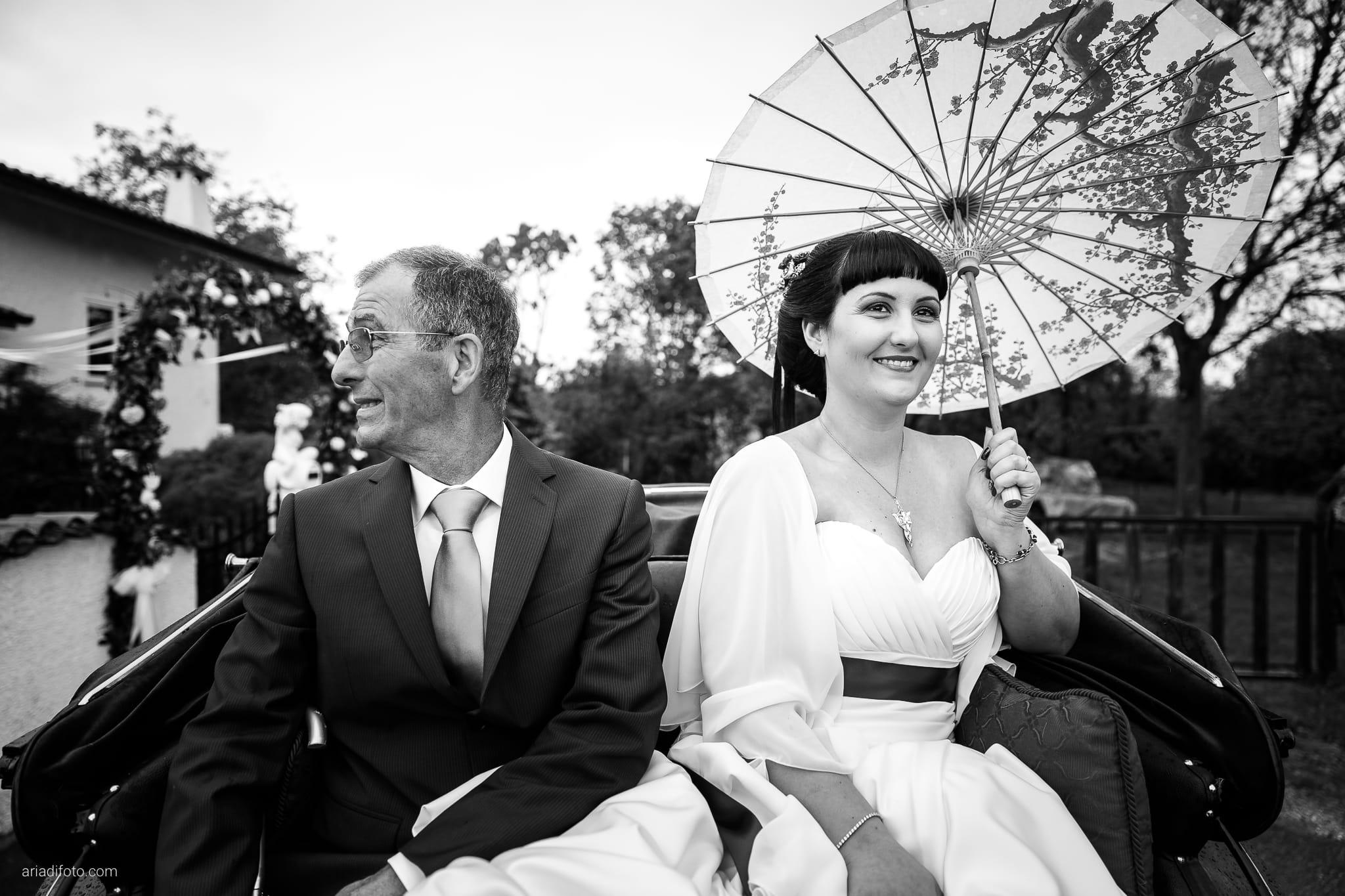 Agnese Alessandro Matrimonio Centro Visite Gradina Doberdo Gorizia Farra momenti carrozza