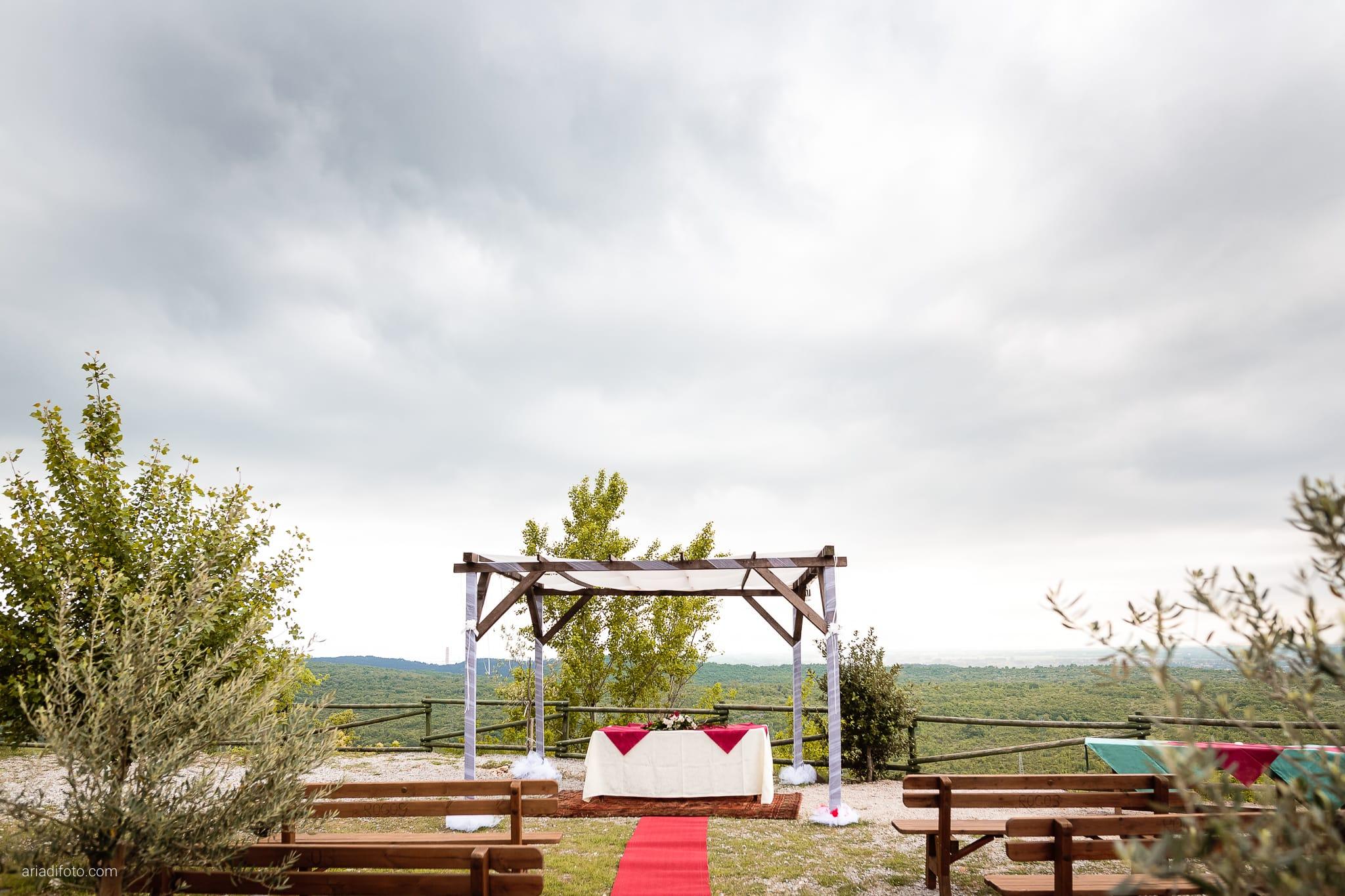 Agnese Alessandro Matrimonio Centro Visite Gradina Doberdo Gorizia Farra cerimonia dettagli allestimenti decorazioni