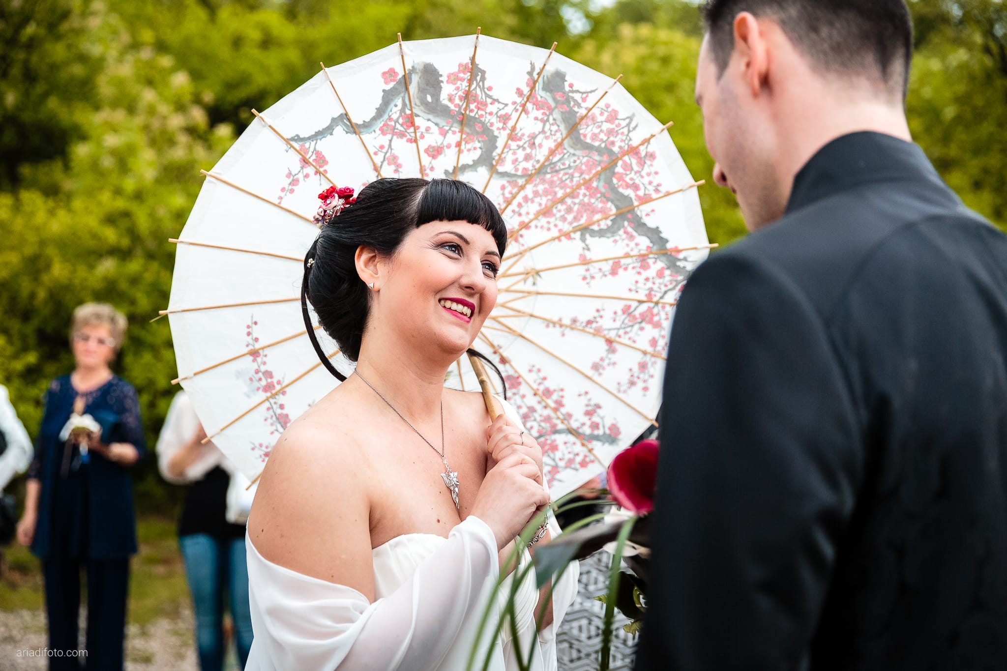Agnese Alessandro Matrimonio Centro Visite Gradina Doberdo Gorizia Farra cerimonia ingresso sposa