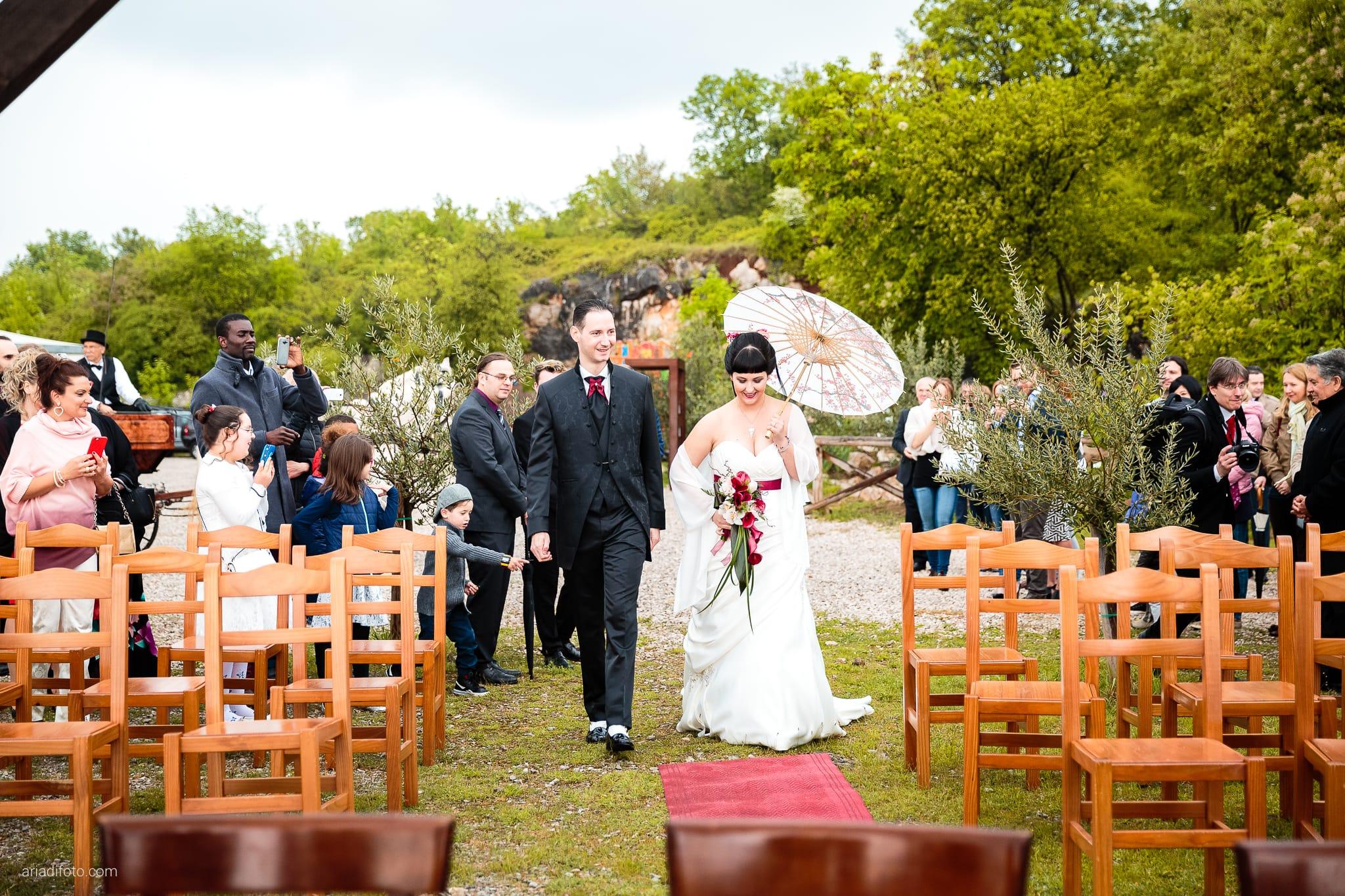 Agnese Alessandro Matrimonio Centro Visite Gradina Doberdo Gorizia Farra cerimonia ingresso sposi