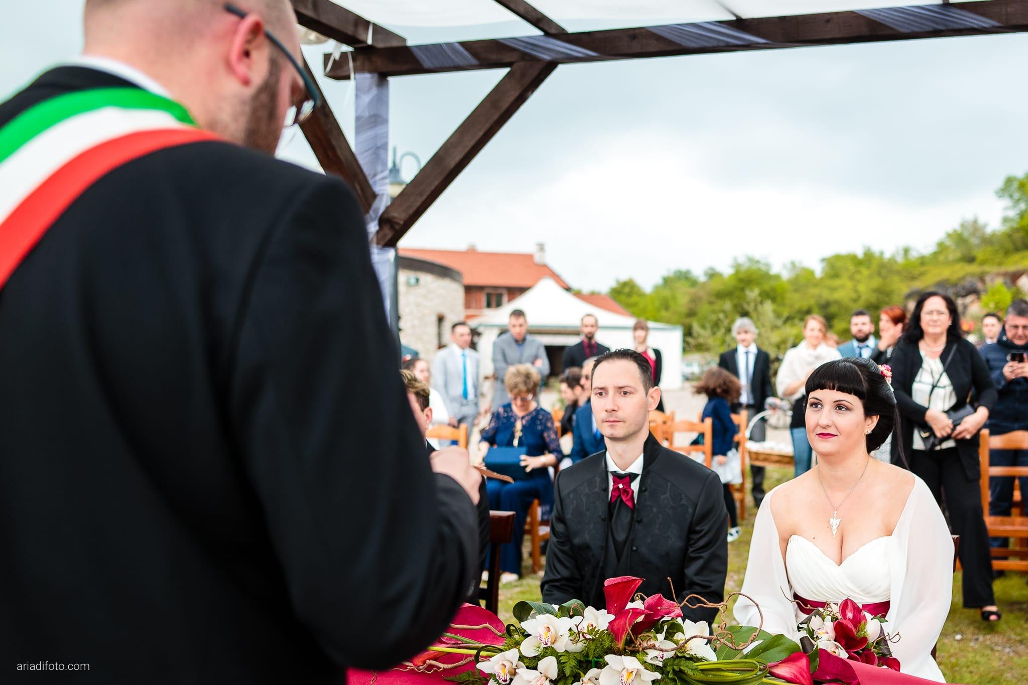 Agnese Alessandro Matrimonio Centro Visite Gradina Doberdo Gorizia Farra cerimonia