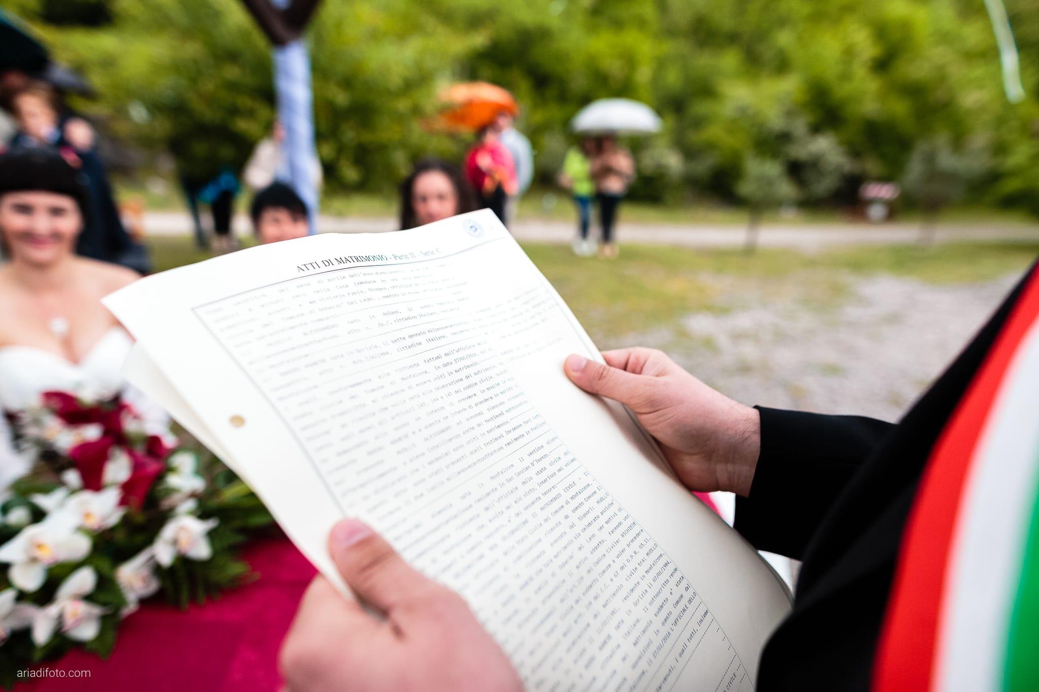 Agnese Alessandro Matrimonio Centro Visite Gradina Doberdo Gorizia Farra cerimonia dettagli