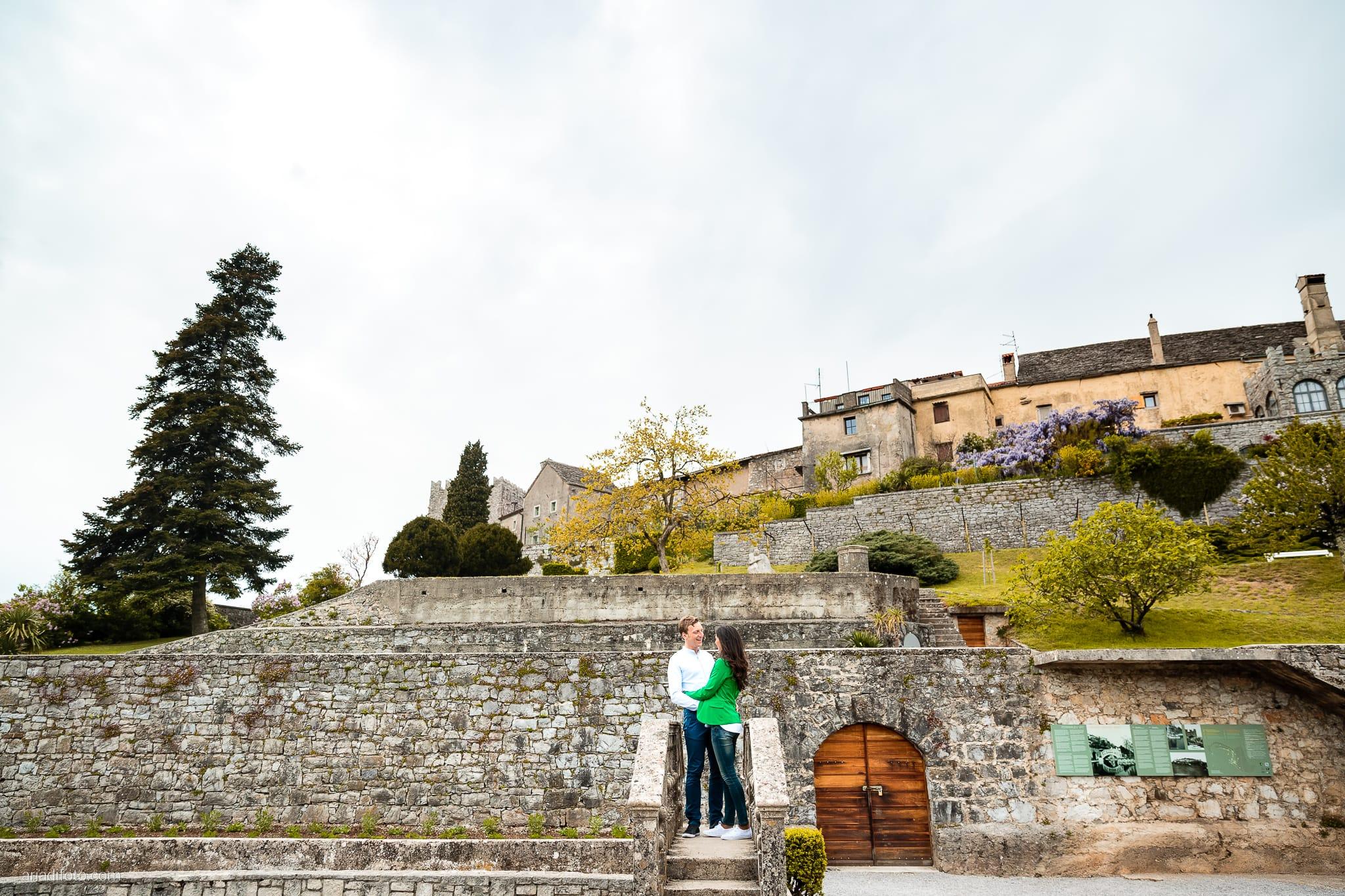 Erica Stefano Prematrimoniale Castello Stanjel San Daniele del Carso Slovenia