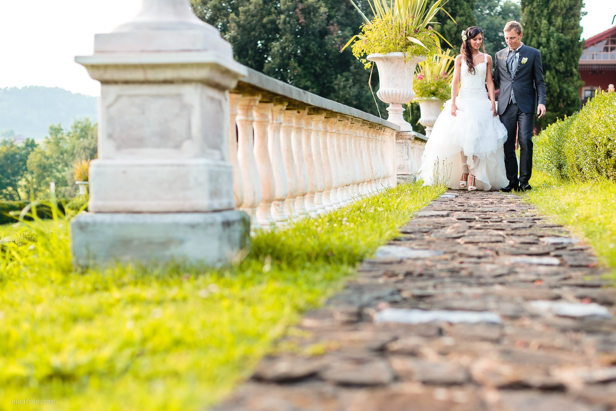 Erica Stefano Matrimonio Duino Castello Spessa Capriva Del Friuli Gorizia ritratti sposa