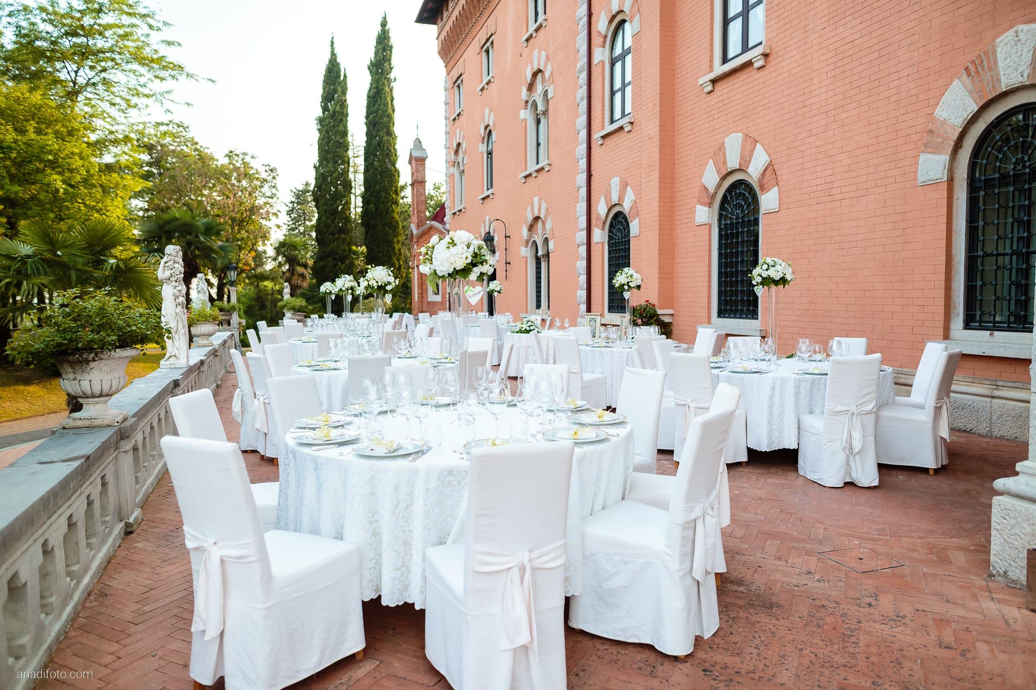 Erica Stefano Matrimonio Duino Castello Spessa Capriva Del Friuli Gorizia ricevimento dettagli sala decorazioni centrotavola allestimenti