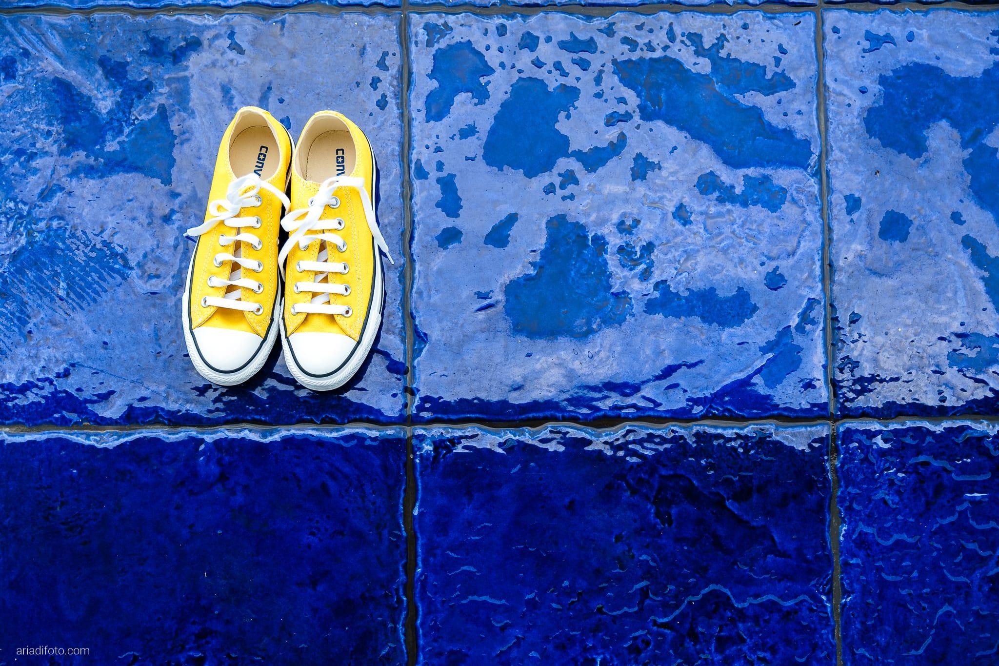 Francesca Andrea Matrimonio Muggia Porto San Rocco Marina San Giusto Trieste preparativi dettagli scarpe