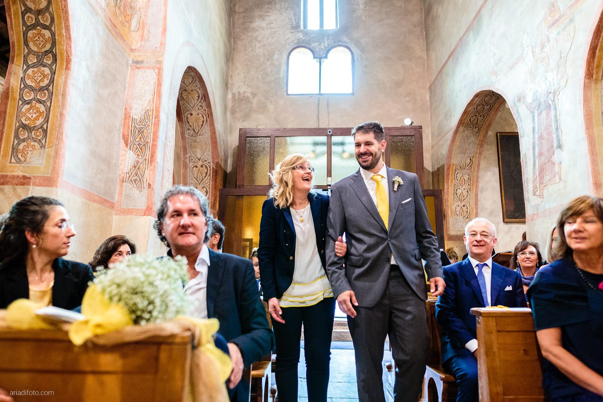 Francesca Andrea Matrimonio Muggia Chiesa Santa Maria Assunta Porto San Rocco Marina San Giusto Trieste cerimonia ingresso sposo