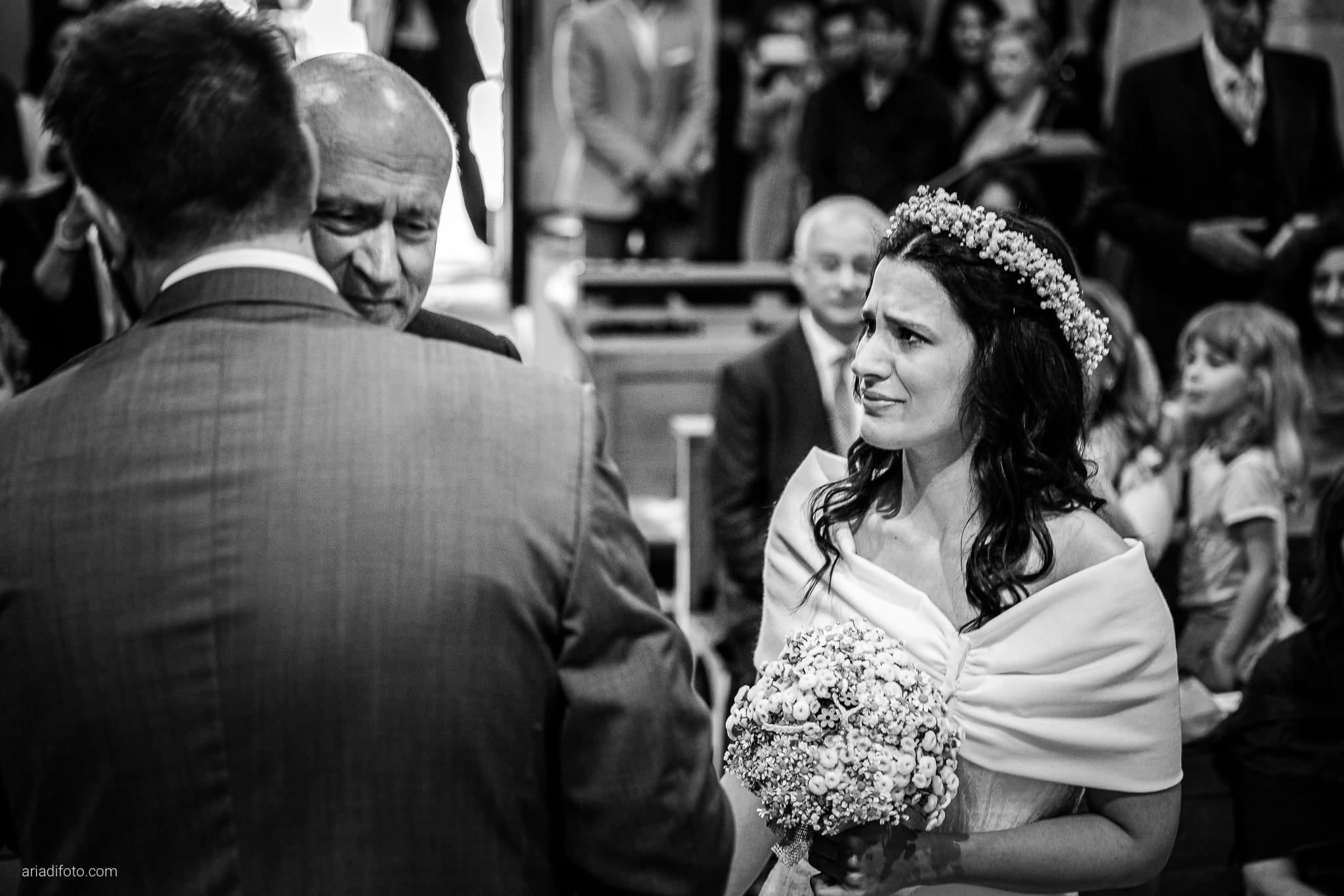 Francesca Andrea Matrimonio Muggia Chiesa Santa Maria Assunta Porto San Rocco Marina San Giusto Trieste cerimonia ingresso sposa