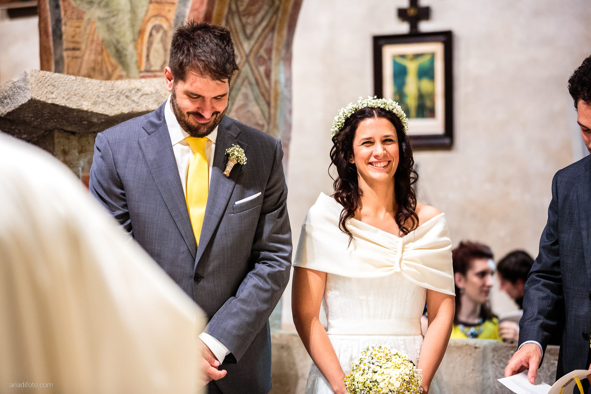 Francesca Andrea Matrimonio Muggia Chiesa Santa Maria Assunta Porto San Rocco Marina San Giusto Trieste cerimonia