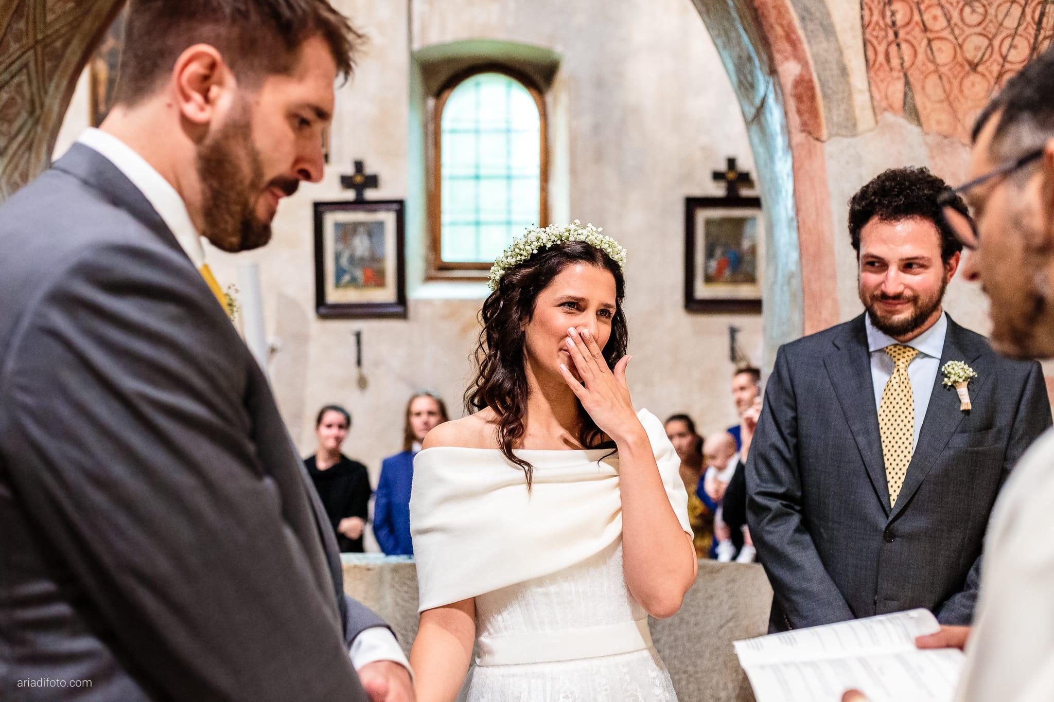 Francesca Andrea Matrimonio Muggia Chiesa Santa Maria Assunta Porto San Rocco Marina San Giusto Trieste cerimonia promesse