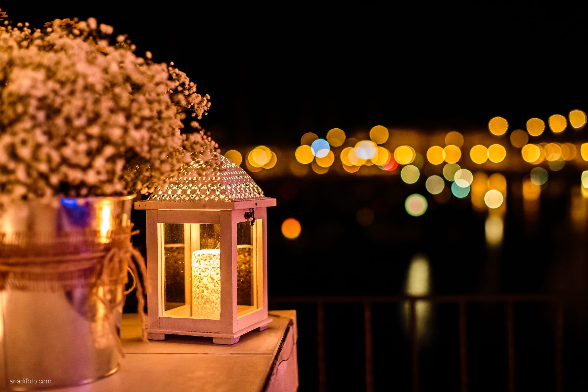 Francesca Andrea Matrimonio Muggia Porto San Rocco Marina San Giusto Trieste ricevimento dettagli lanterna