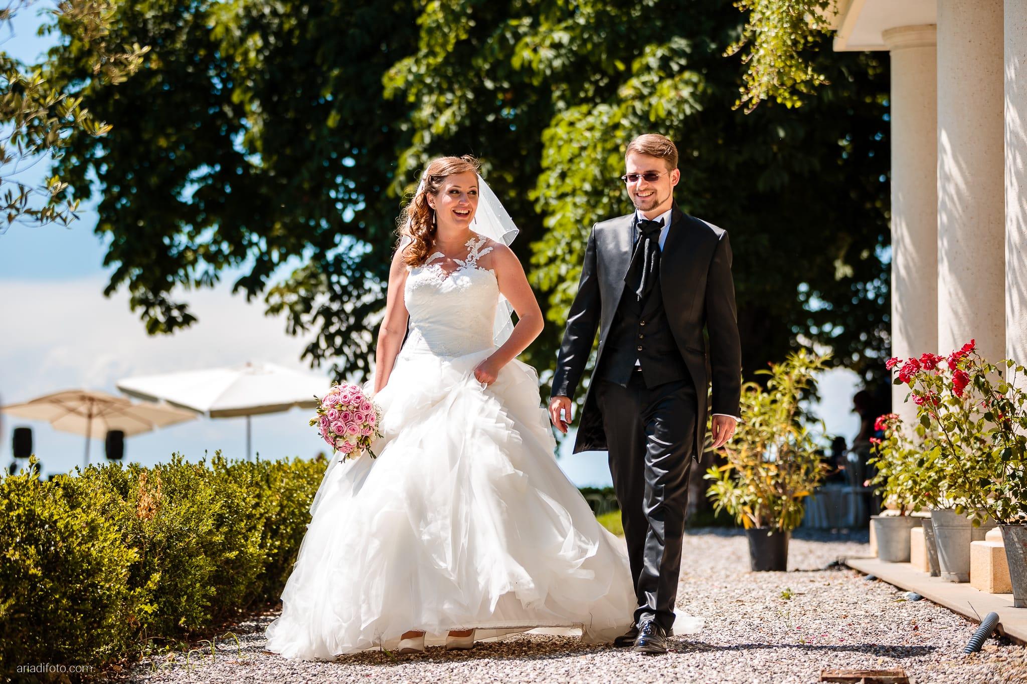 Martina Daniele Matrimonio Duino Baronesse Tacco Collio Gorizia ritratti sposi