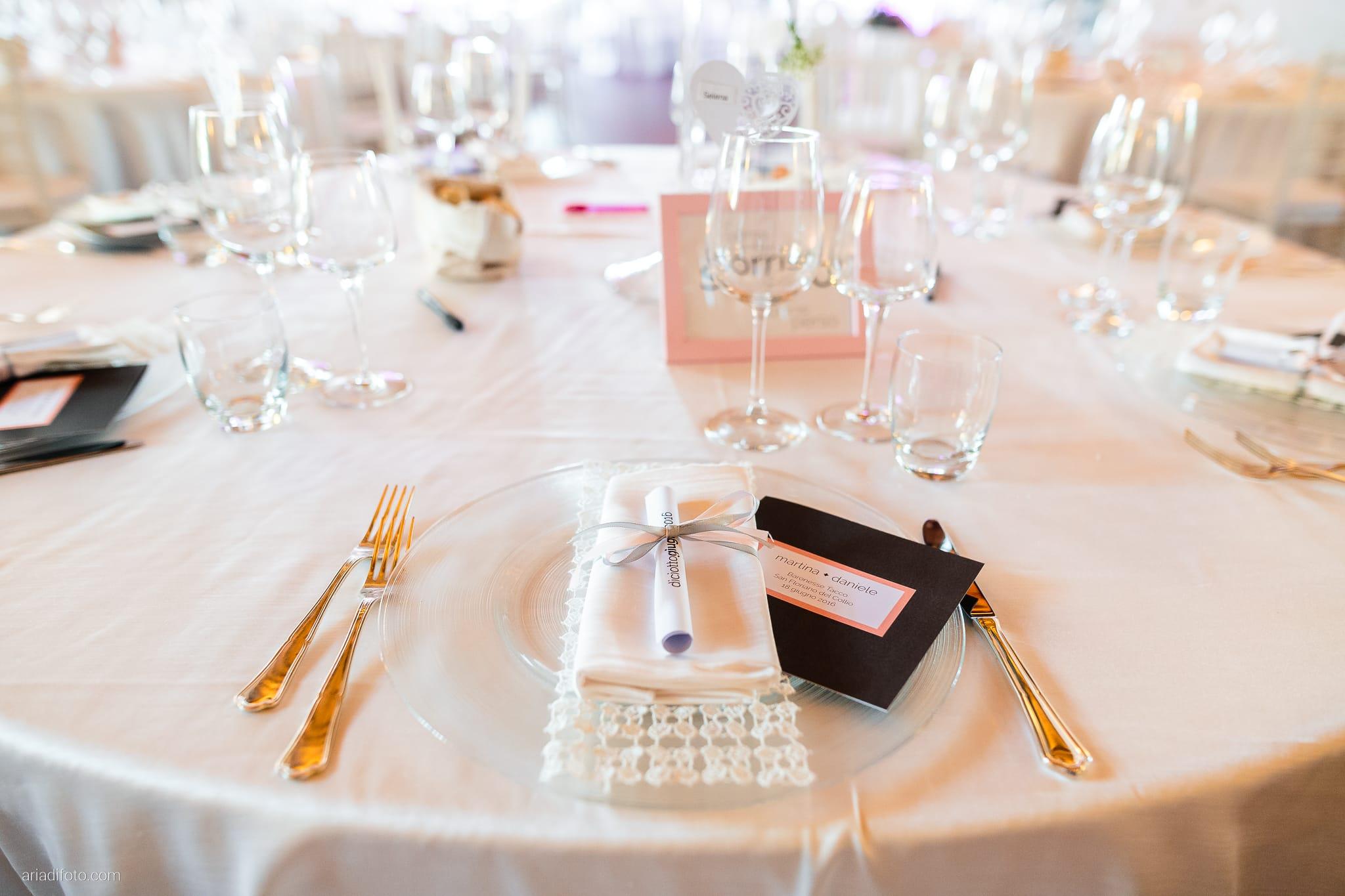 Martina Daniele Matrimonio Duino Baronesse Tacco Collio Gorizia ricevimento dettagli decorazioni allestimenti centrotavola menu
