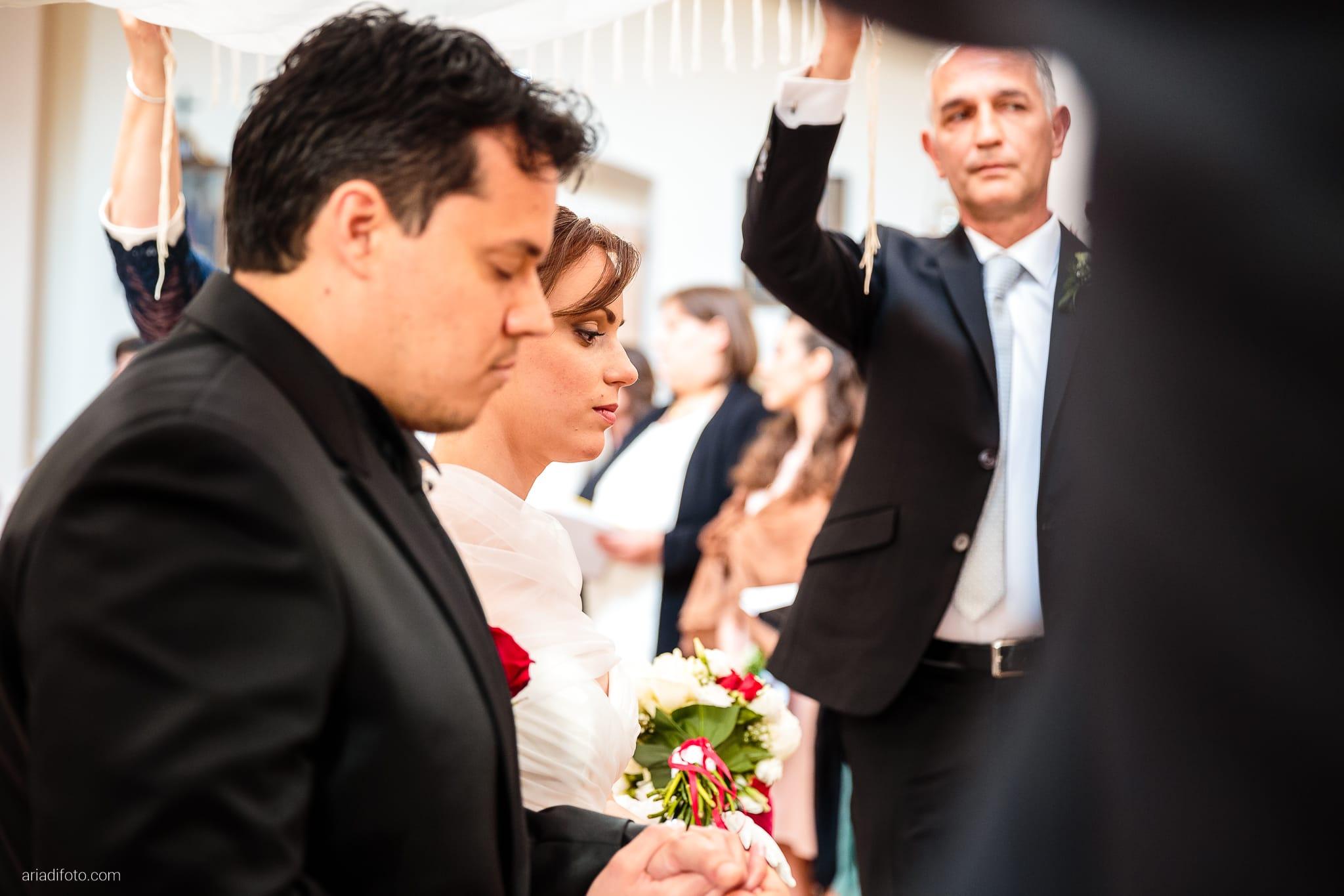 Sarah Matteo Matrimonio Moruzzo Chiesa Santa Maria Gruagno Agriturismo Il Vagabondo Buttrio Udine cerimonia velatio