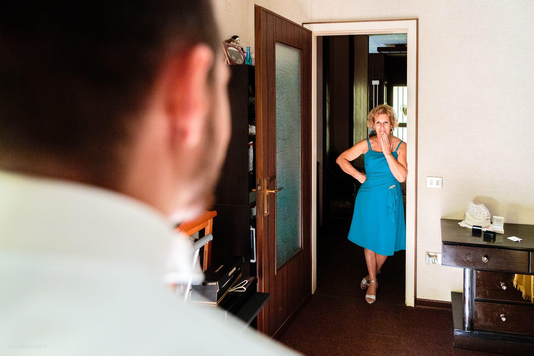 Mariarita Matteo Matrimonio Trieste Villa Attems Cernozza Postcastro Lucinico Gorizia preparativi mamma