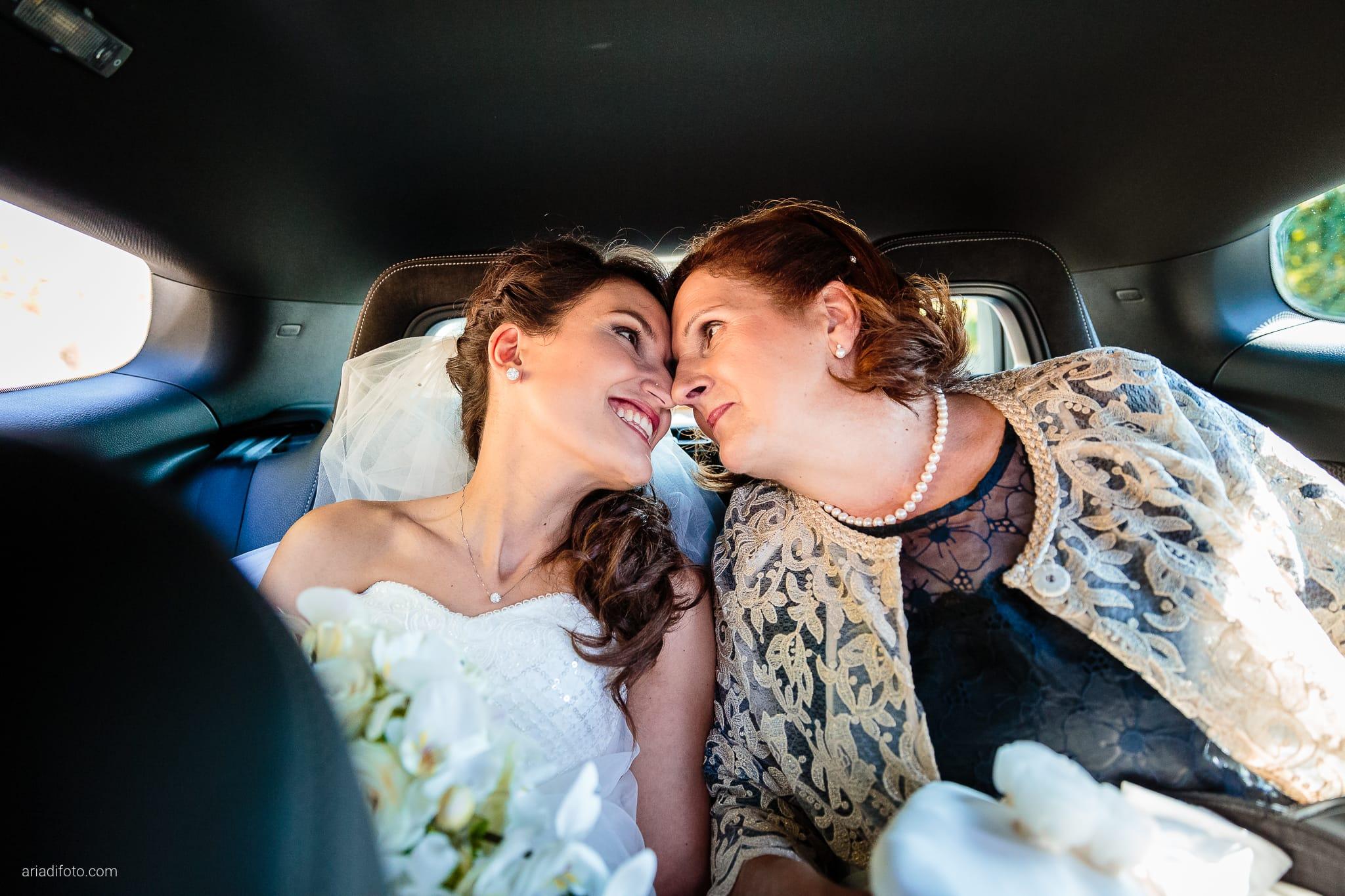Mariarita Matteo Matrimonio Trieste Villa Attems Cernozza Postcastro Lucinico Gorizia momenti auto mamma