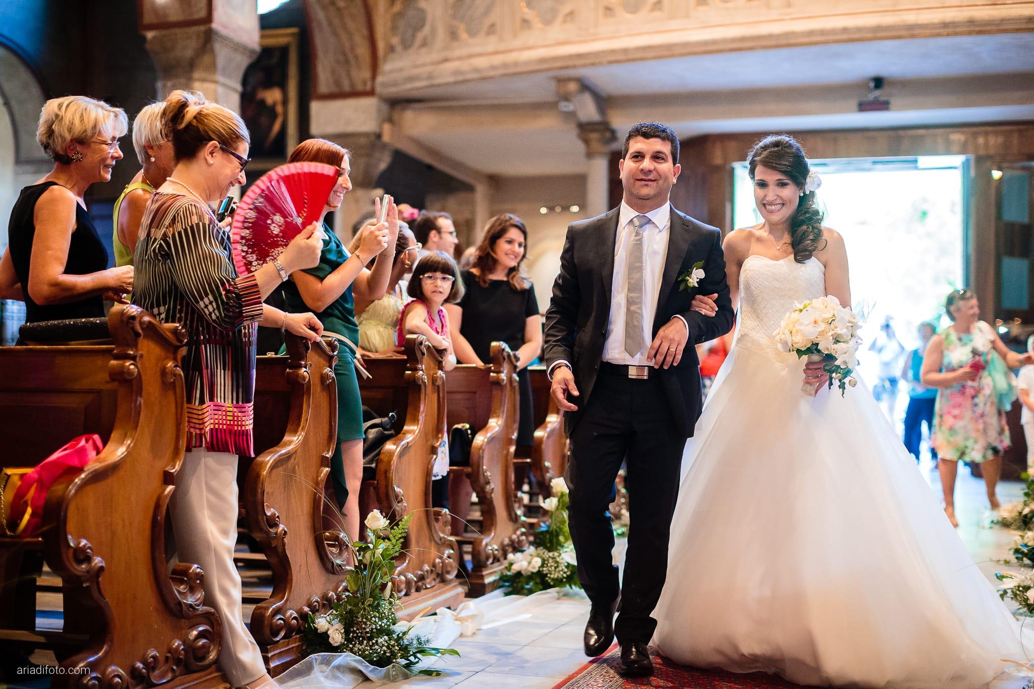 Mariarita Matteo Matrimonio Trieste Cattedrale San Giusto Villa Attems Cernozza Postcastro Lucinico Gorizia cerimonia ingresso sposa