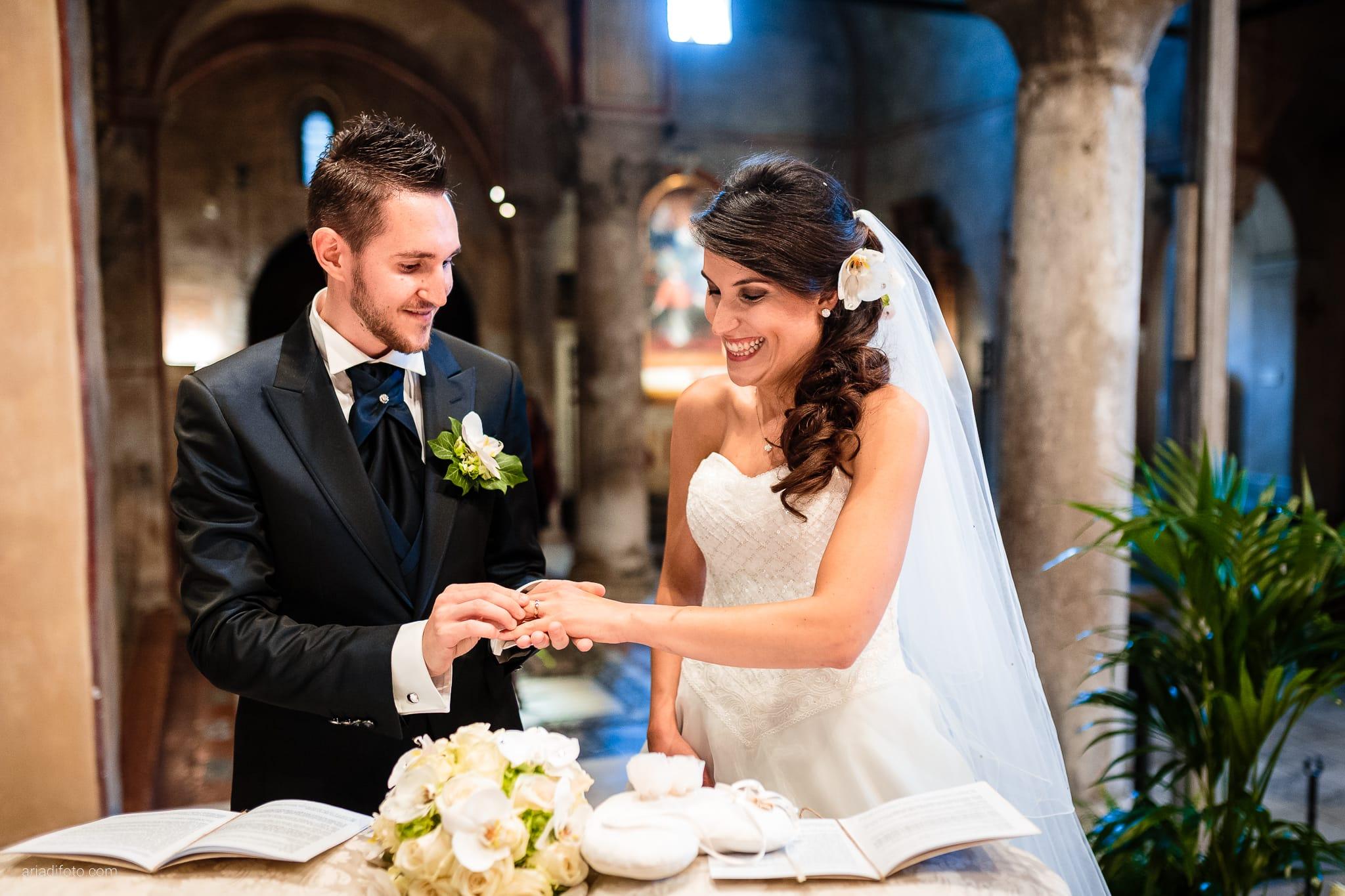 Mariarita Matteo Matrimonio Trieste Cattedrale San Giusto Villa Attems Cernozza Postcastro Lucinico Gorizia cerimonia scambio degli anelli