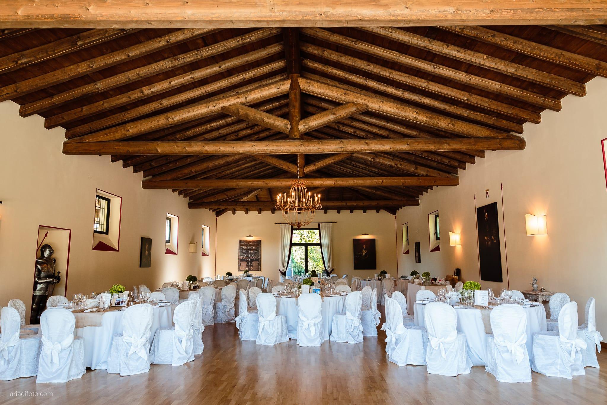 Mariarita Matteo Matrimonio Trieste Villa Attems Cernozza Postcastro Lucinico Gorizia ricevimento sala allestimenti decorazioni centrotavola